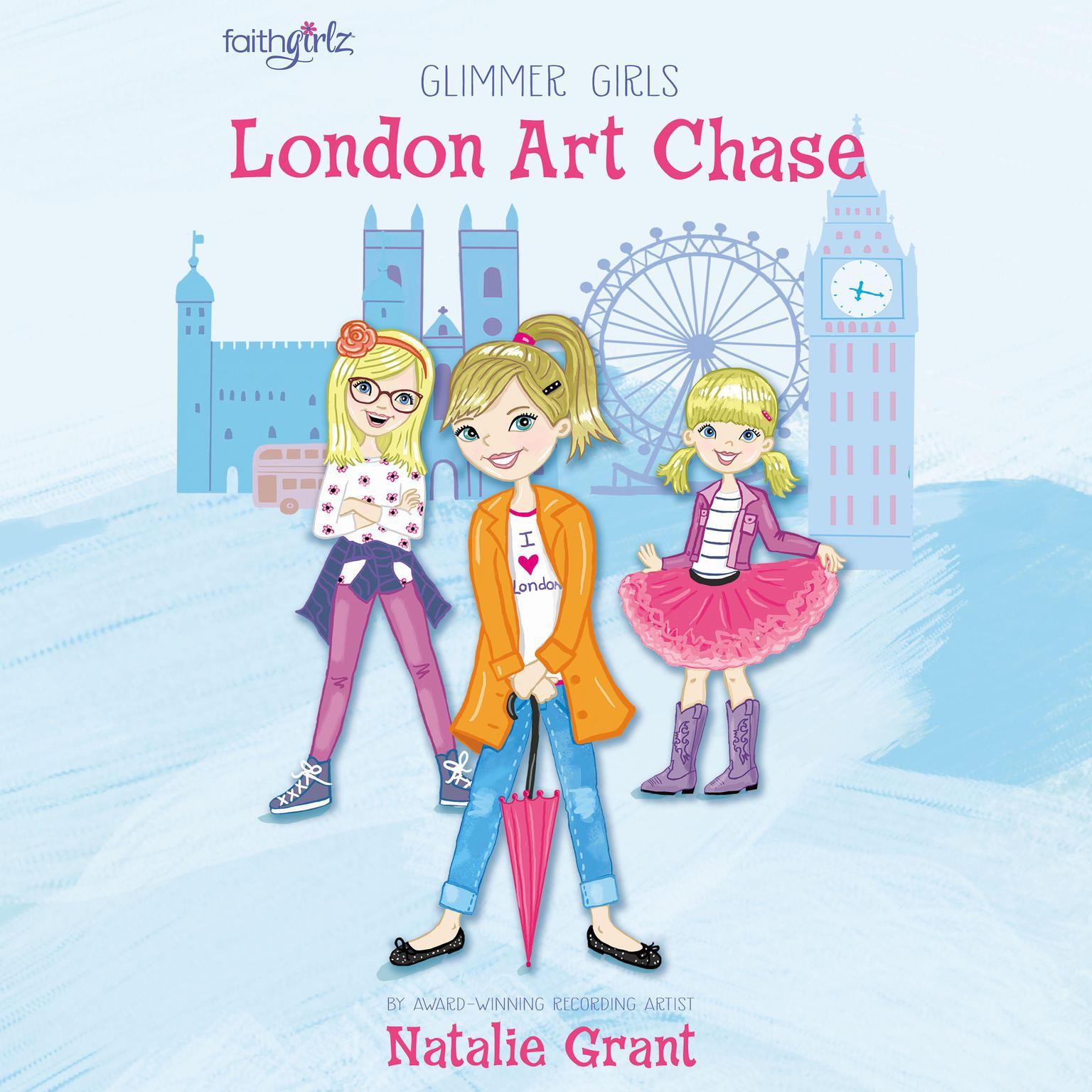 Printable London Art Chase Audiobook Cover Art