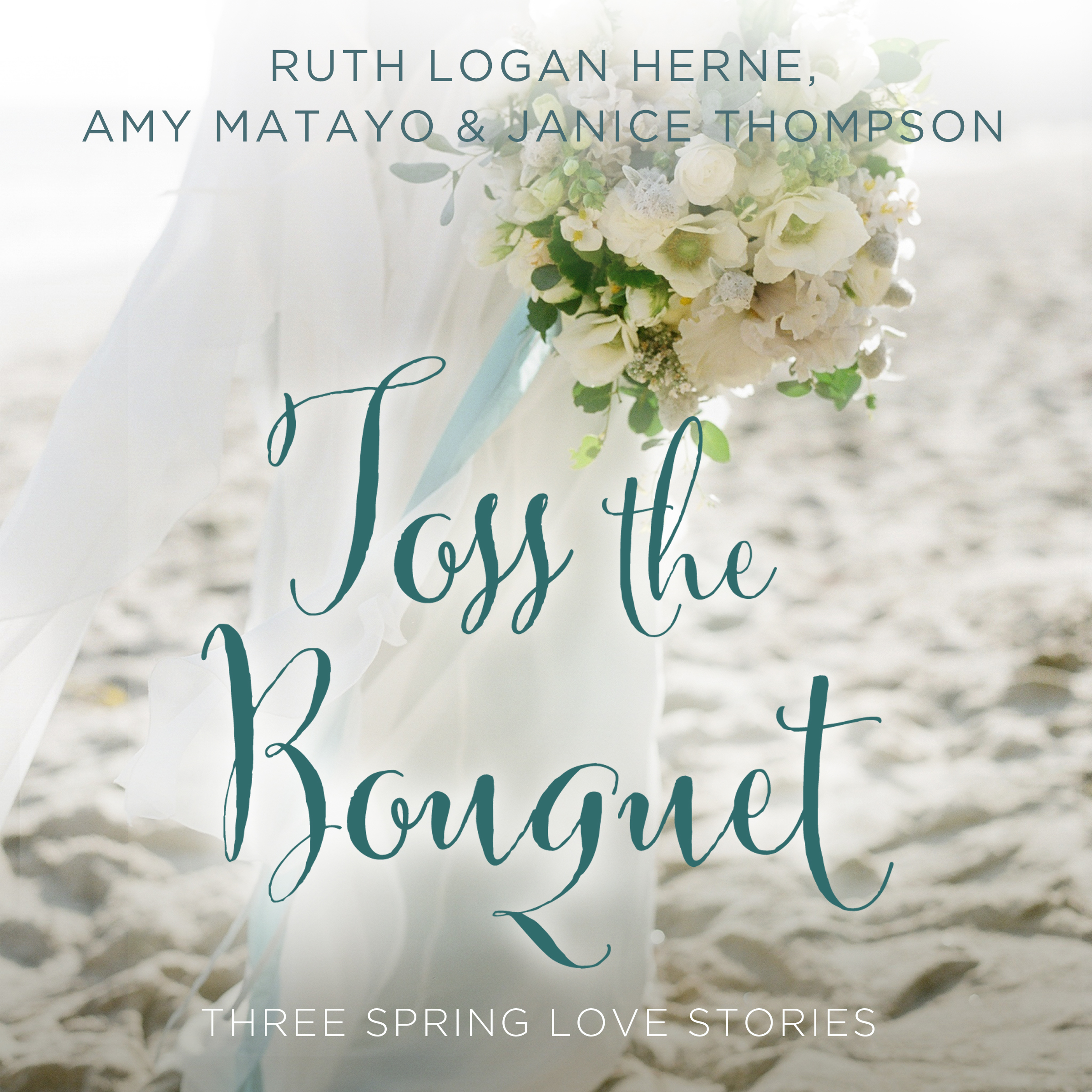 Printable Toss the Bouquet: Three Spring Love Stories Audiobook Cover Art