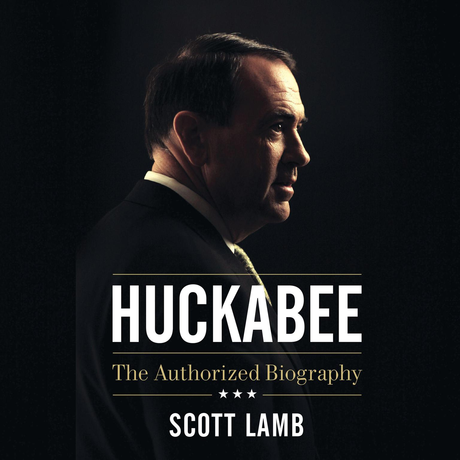 Printable Huckabee: The Authorized Biography Audiobook Cover Art