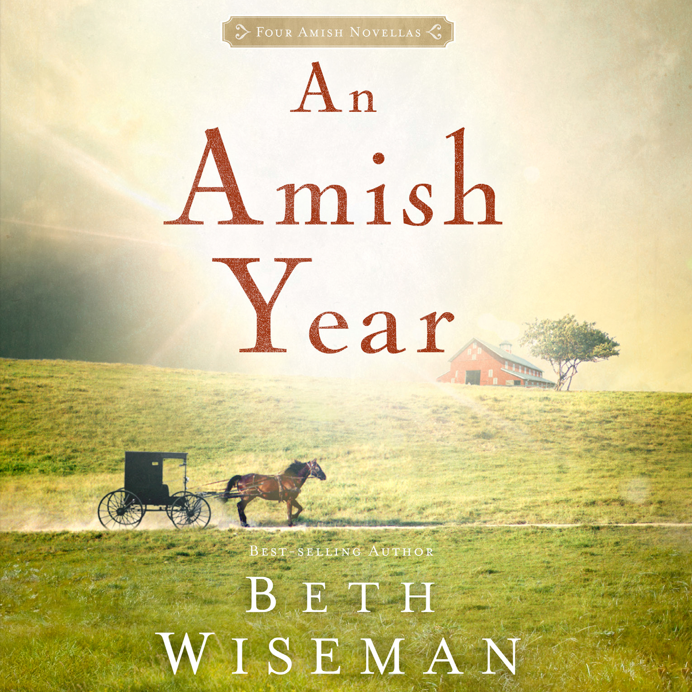 Printable An Amish Year: Four Amish Novellas Audiobook Cover Art