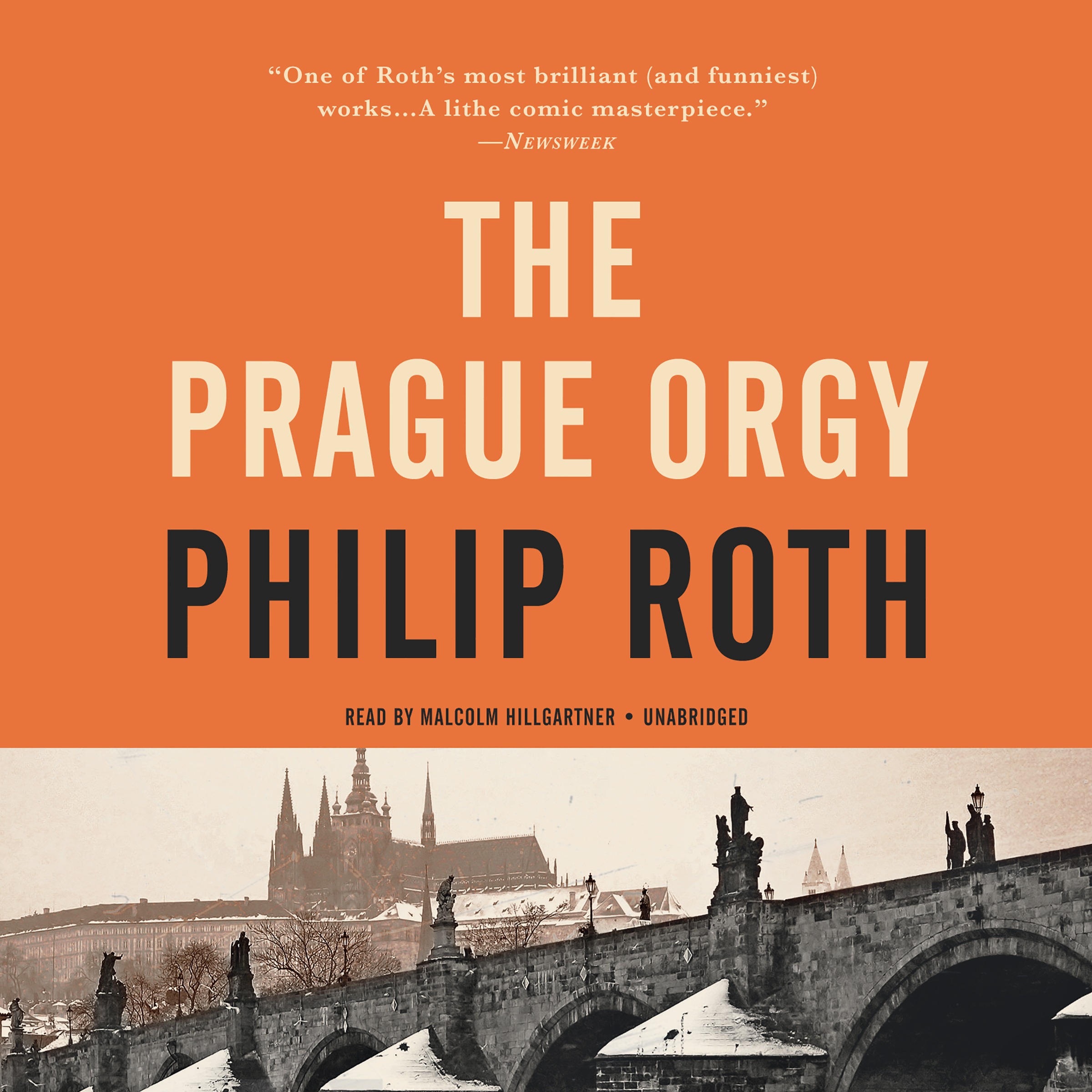 Printable The Prague Orgy Audiobook Cover Art