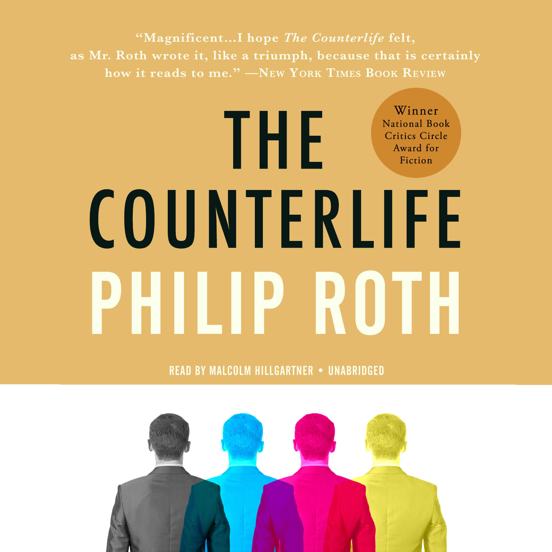 Printable The Counterlife Audiobook Cover Art