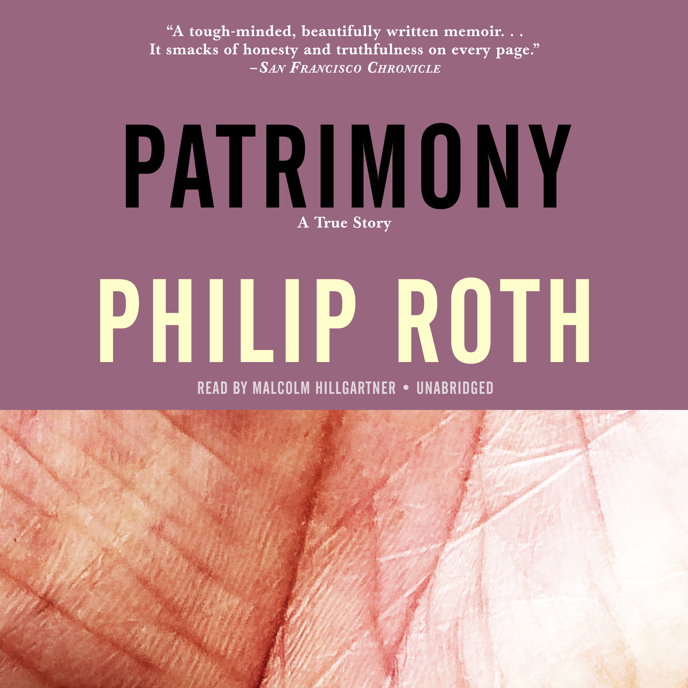 Printable Patrimony: A True Story Audiobook Cover Art