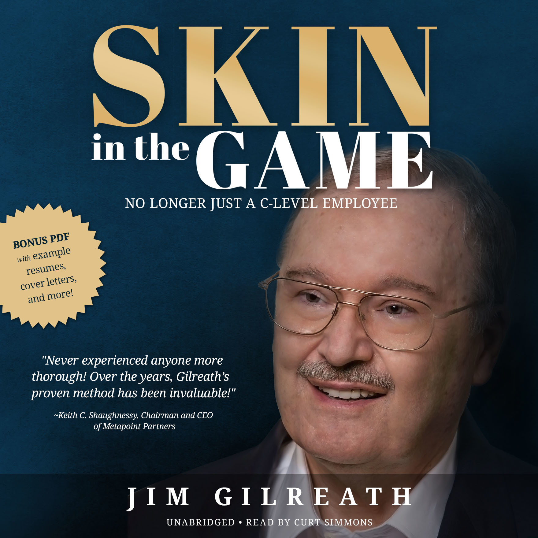 Printable Skin in the Game: No Longer Just a C-Level Employee Audiobook Cover Art