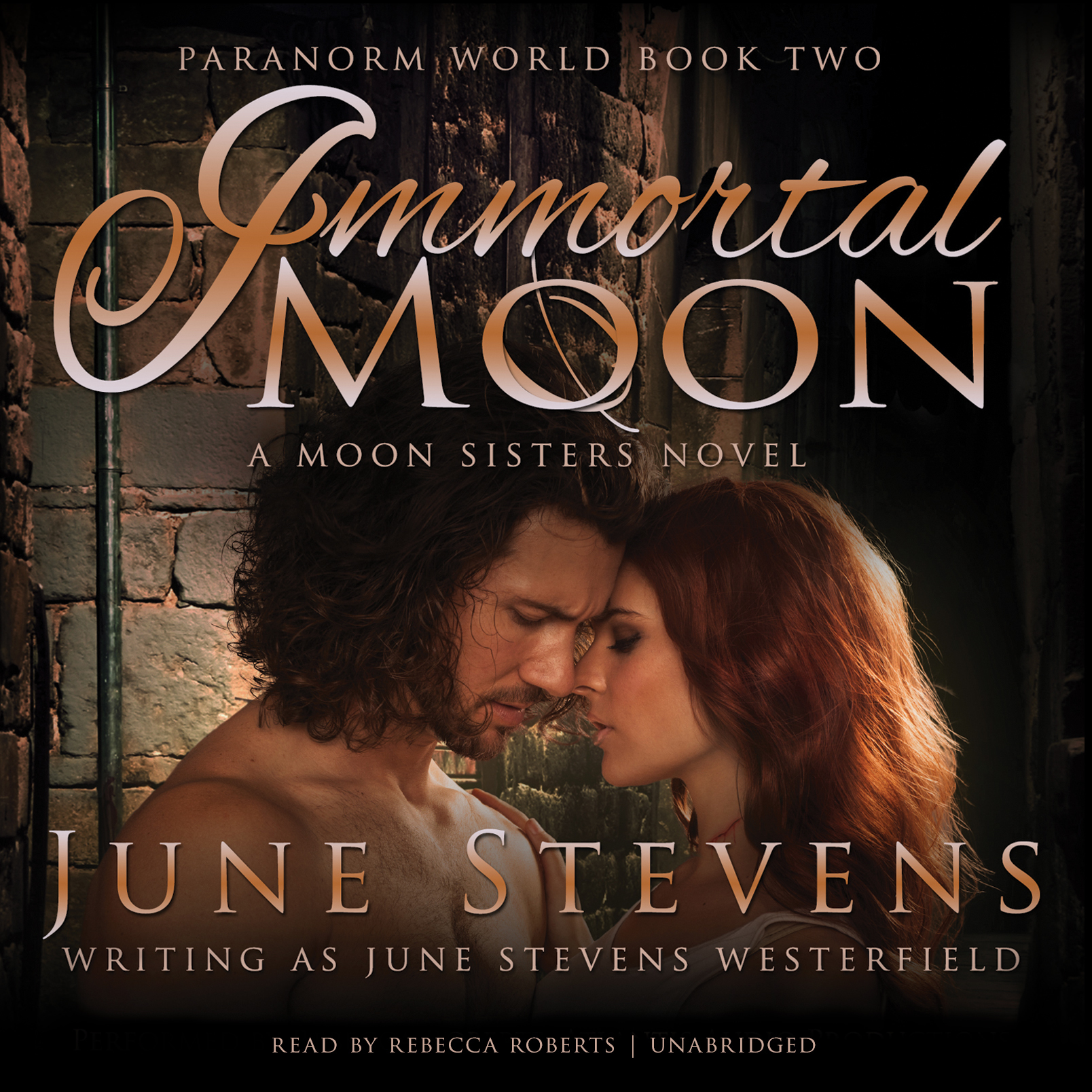 Printable Immortal Moon: A Moon Sisters Novel Audiobook Cover Art