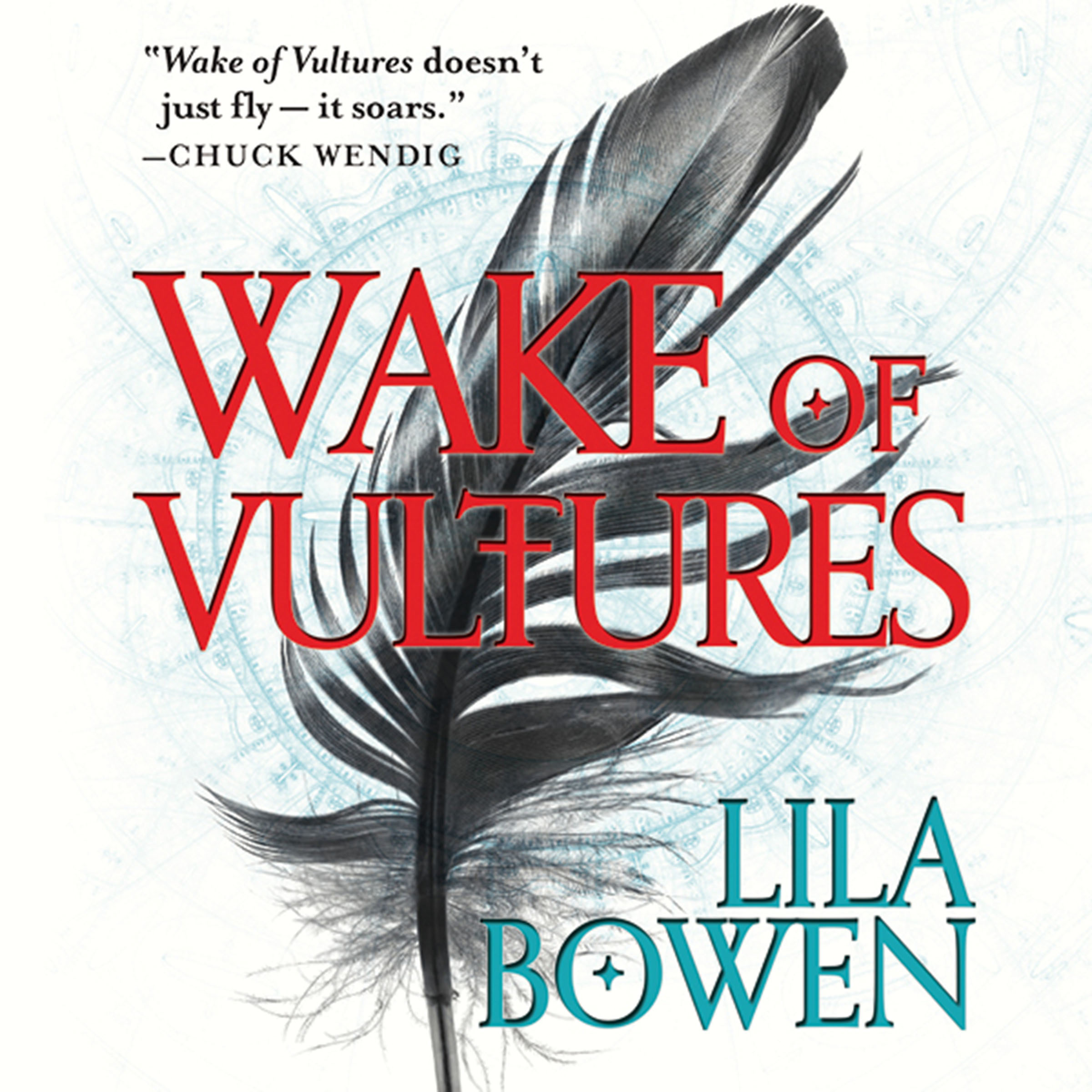 Printable Wake of Vultures Audiobook Cover Art