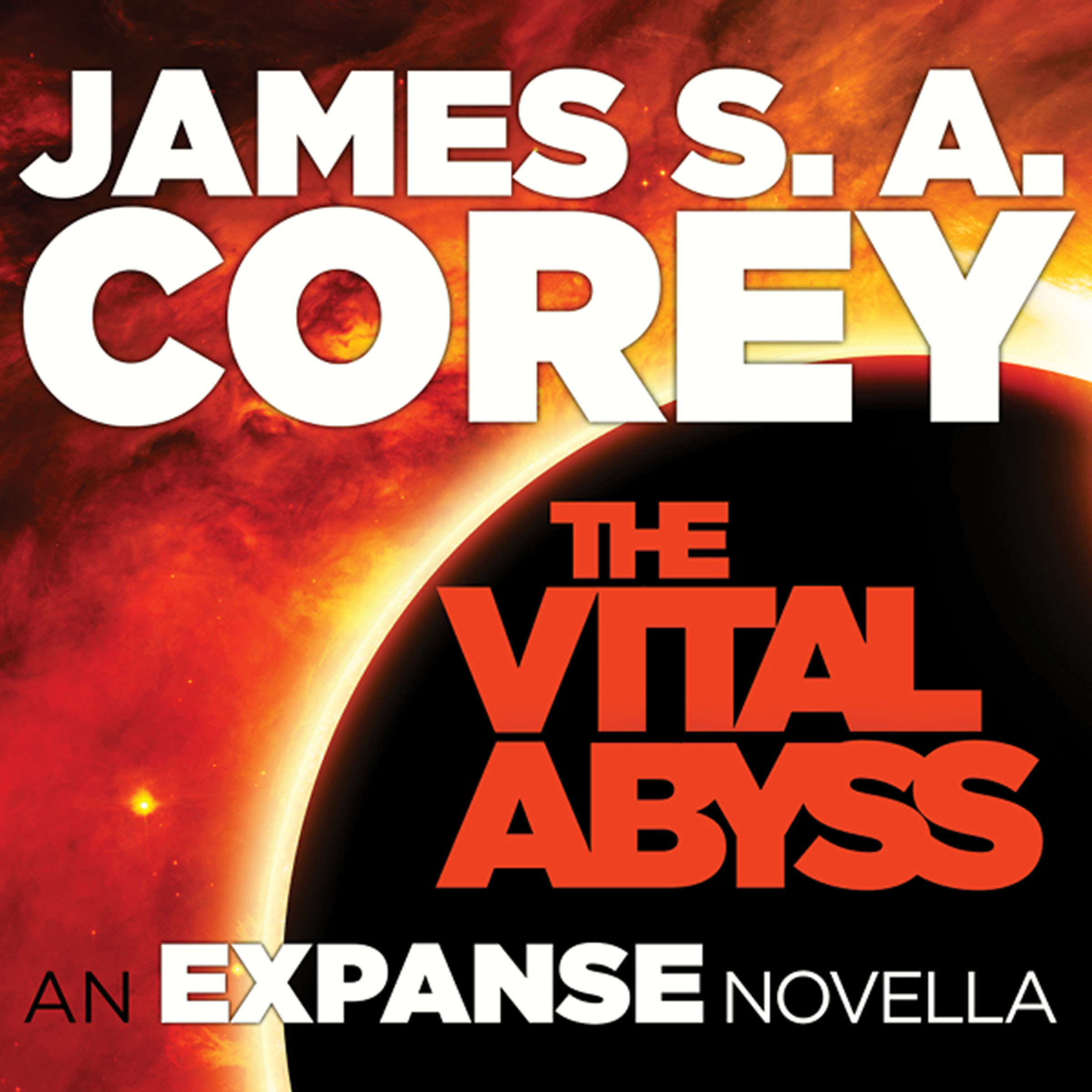 Printable The Vital Abyss: An Expanse Novella Audiobook Cover Art