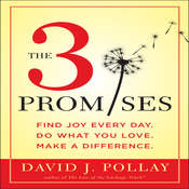 The 3 Promises: Find Joy Every Day. Do What You Love. Make a Difference., by David J. Pollay