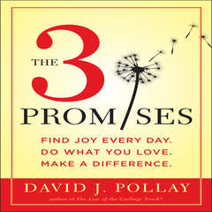 The 3 Promises: Find Joy Every Day. Do What You Love. Make A Difference. Audiobook, by David J. Pollay