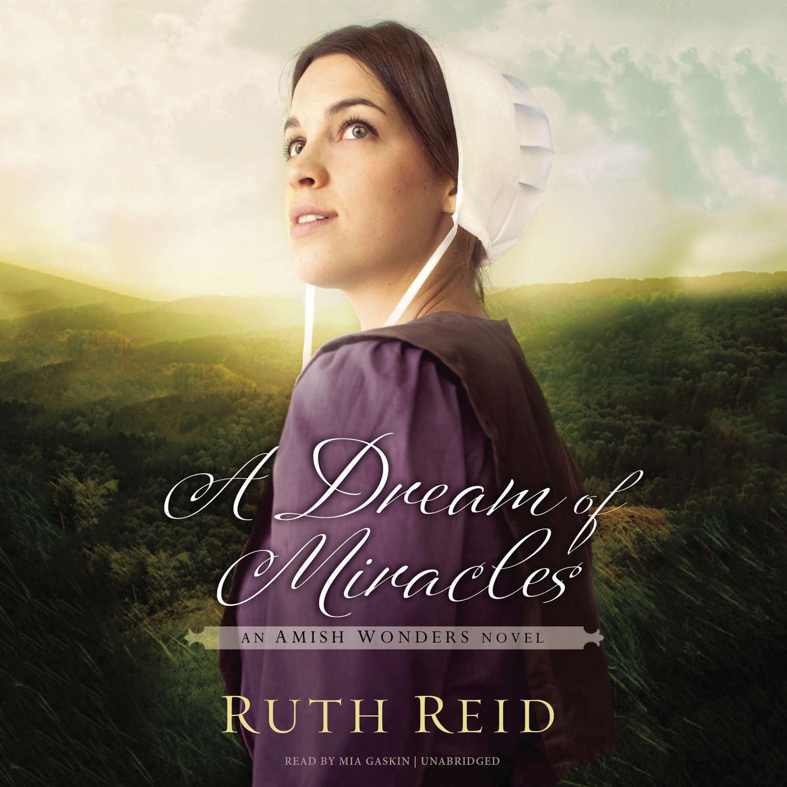 Printable A Dream of Miracles: An Amish Wonders Novel Audiobook Cover Art