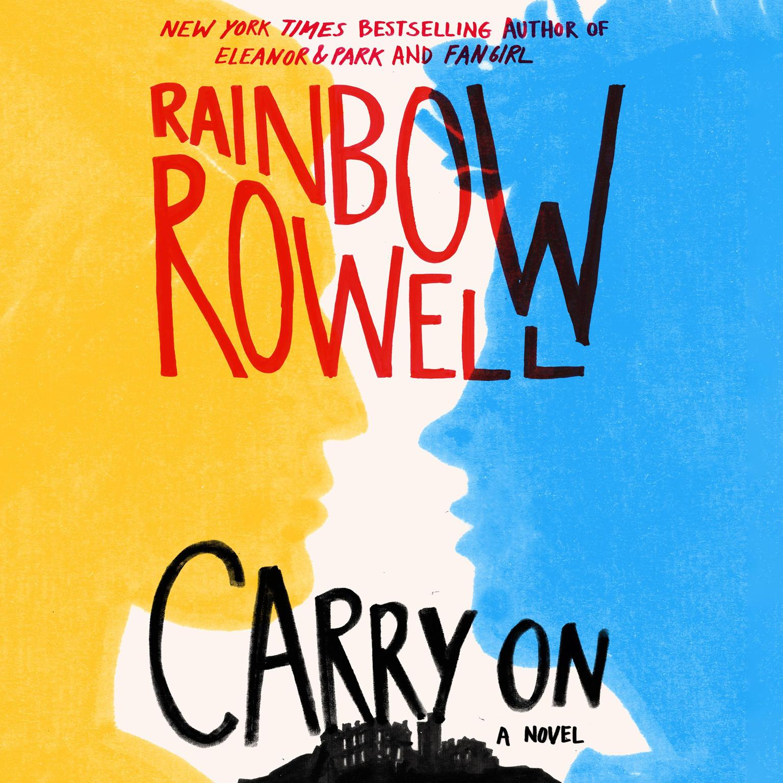 Printable Carry On: A Novel Audiobook Cover Art
