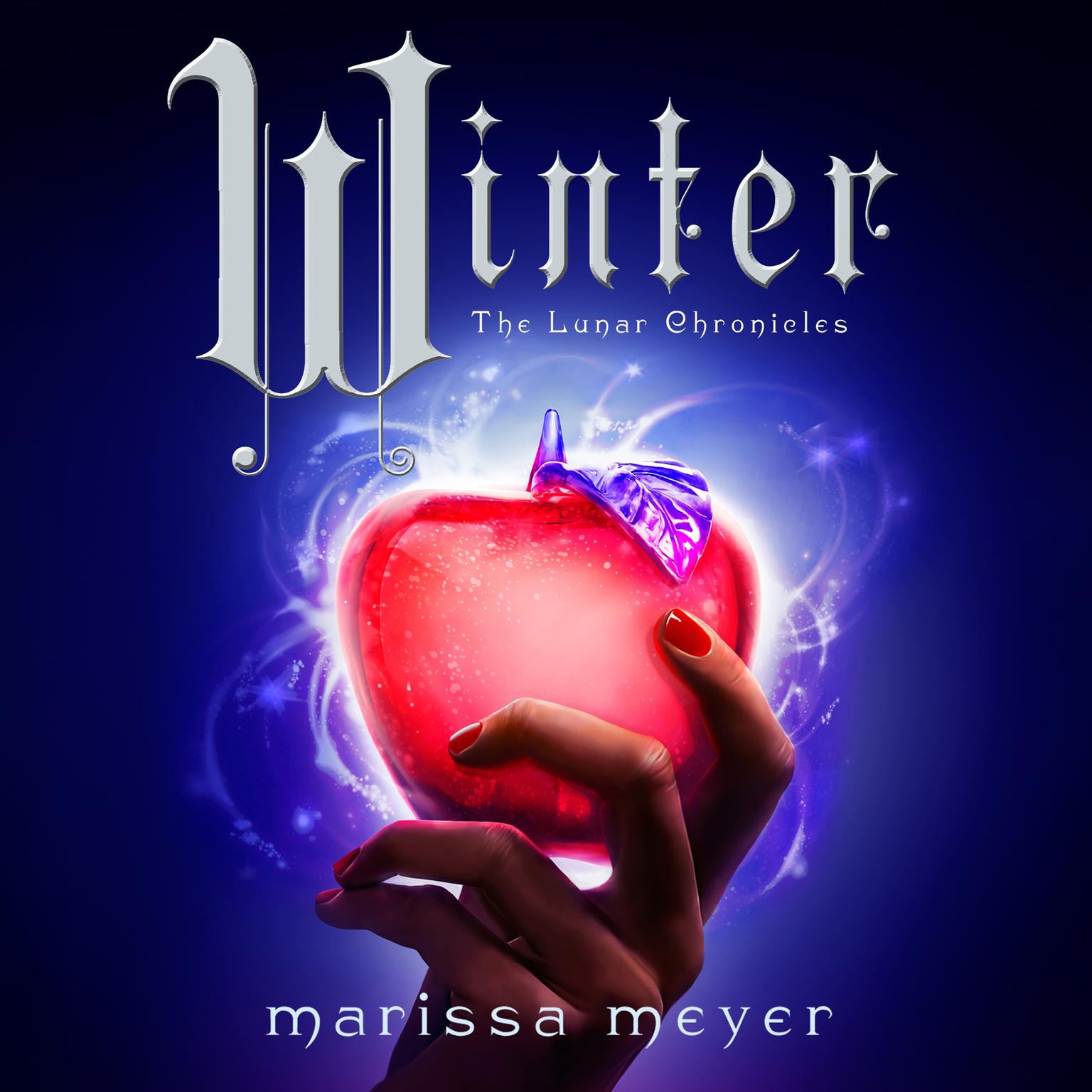Printable Winter Audiobook Cover Art