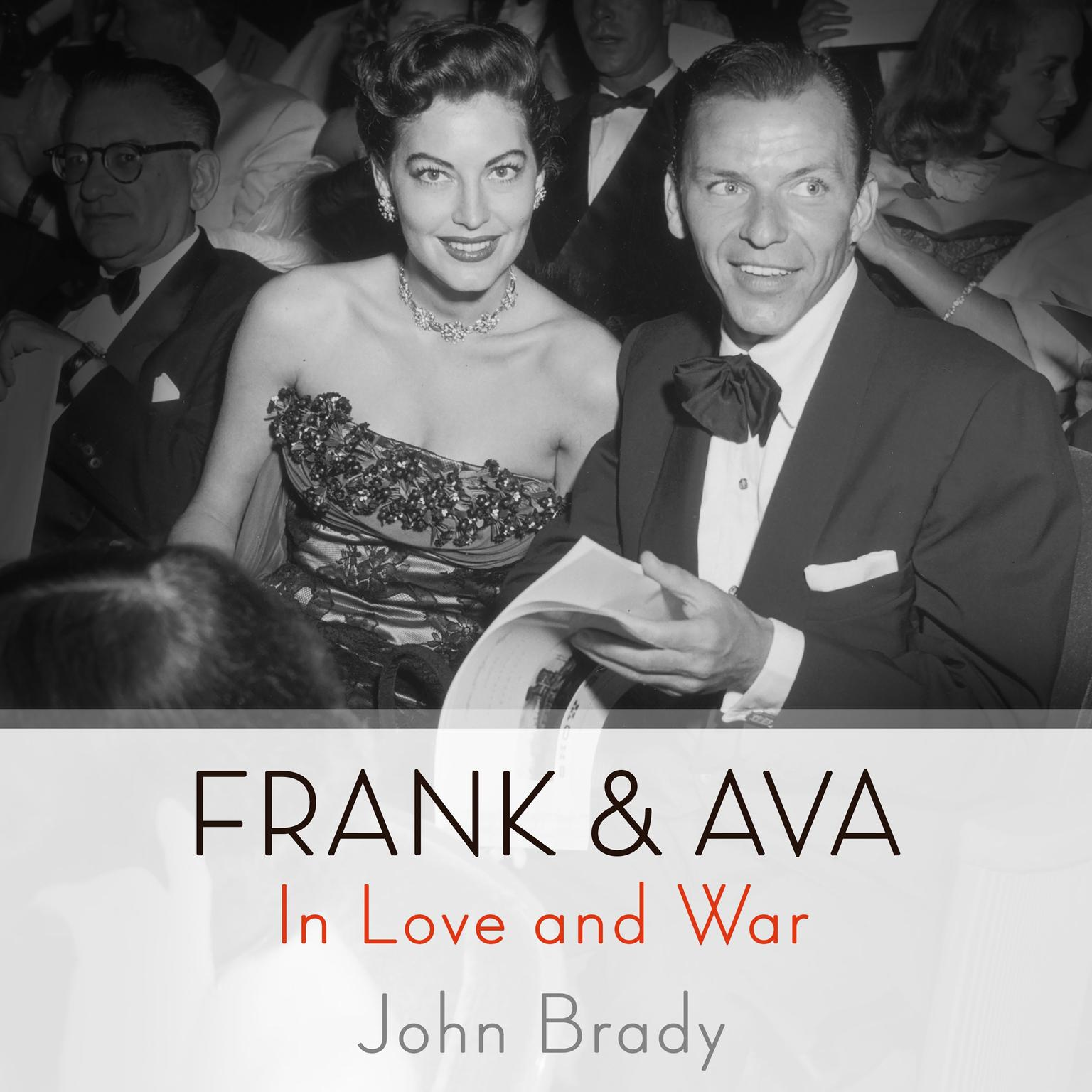 Printable Frank & Ava: In Love and War Audiobook Cover Art