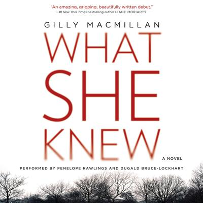 What She Knew: A Novel Audiobook, by Gilly Macmillan