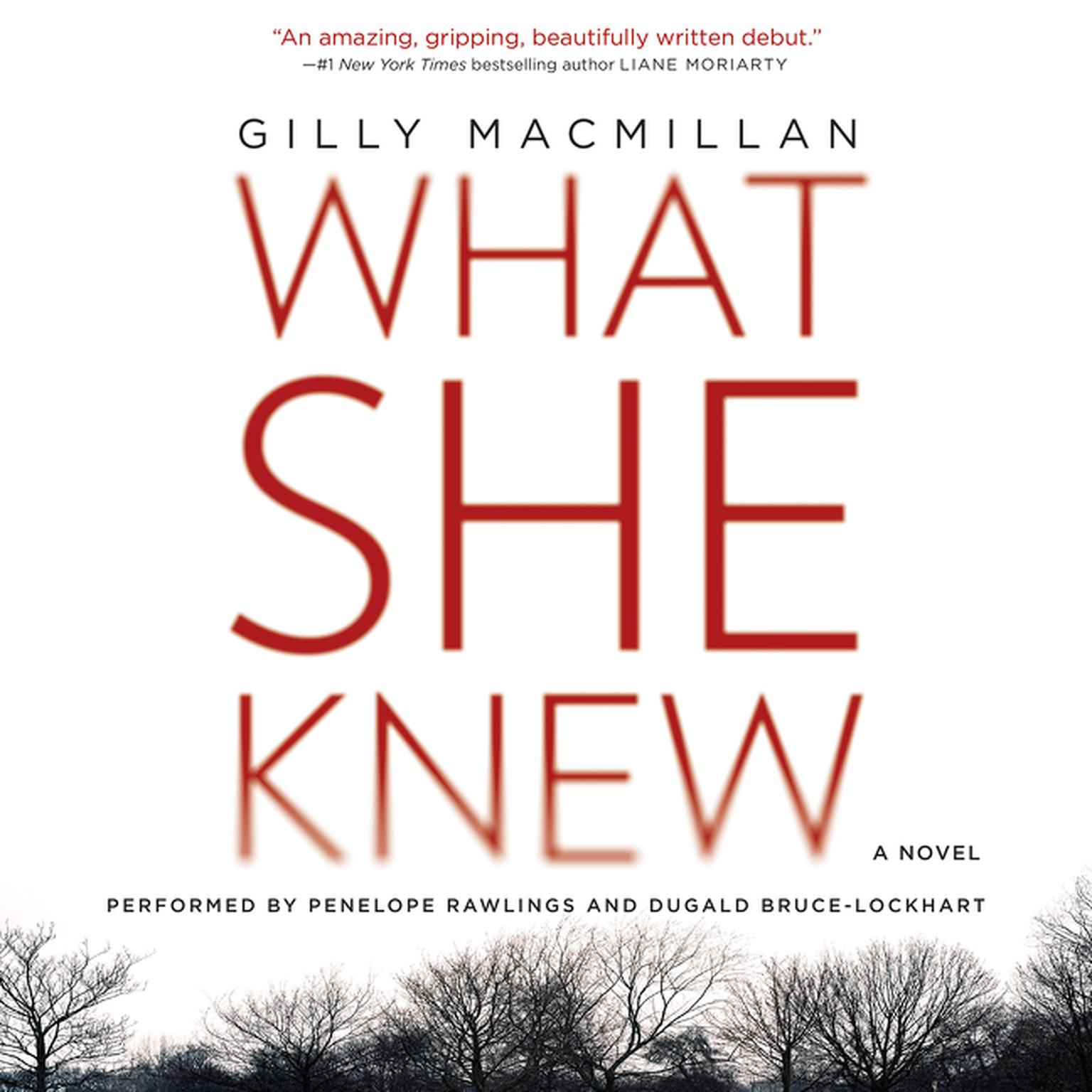 Printable What She Knew: A Novel Audiobook Cover Art