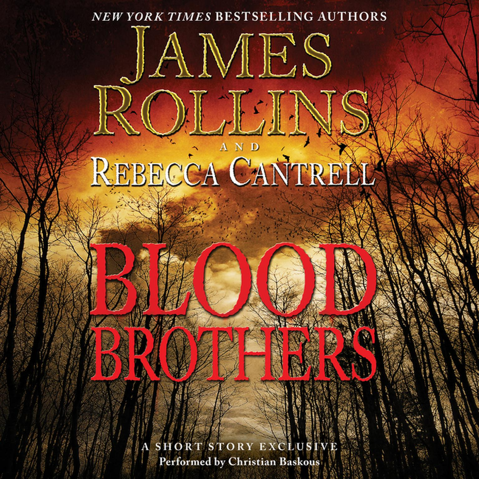 Printable Blood Brothers: A Short Story Exclusive Audiobook Cover Art