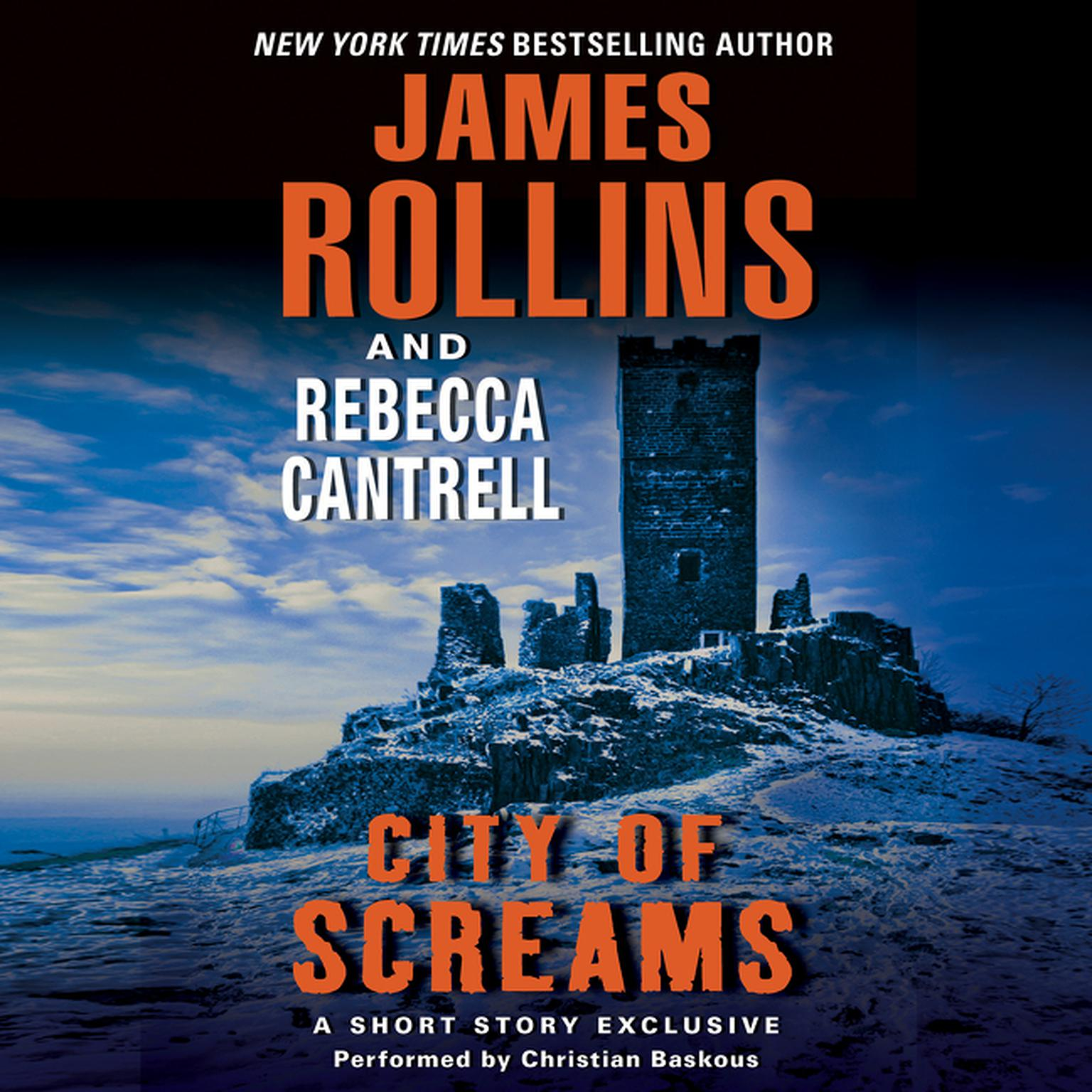 Printable City of Screams: A Short Story Exclusive Audiobook Cover Art