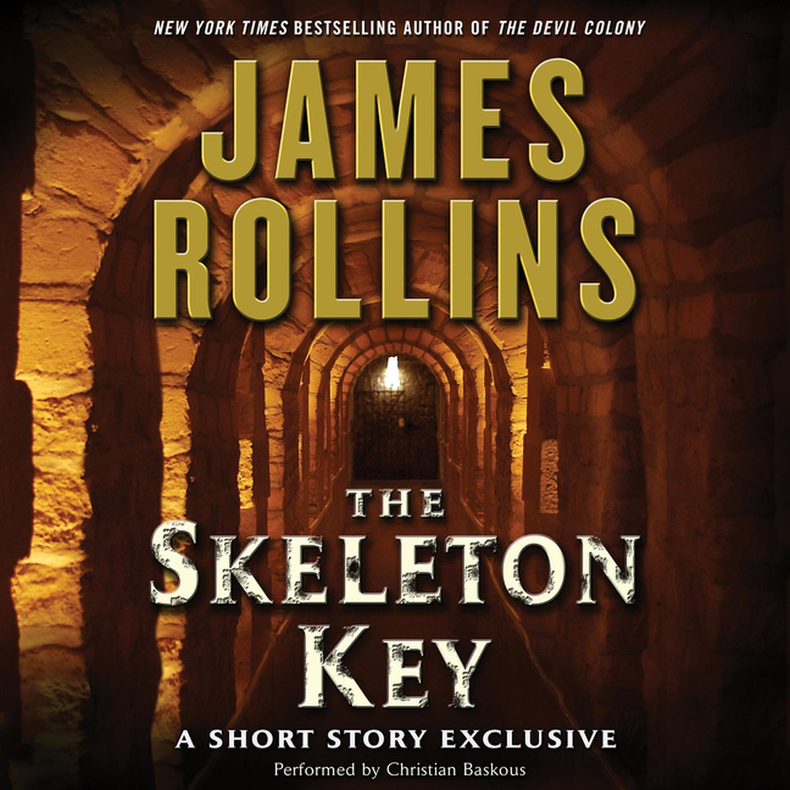 Printable Skeleton Key: A Short Story Exclusive Audiobook Cover Art