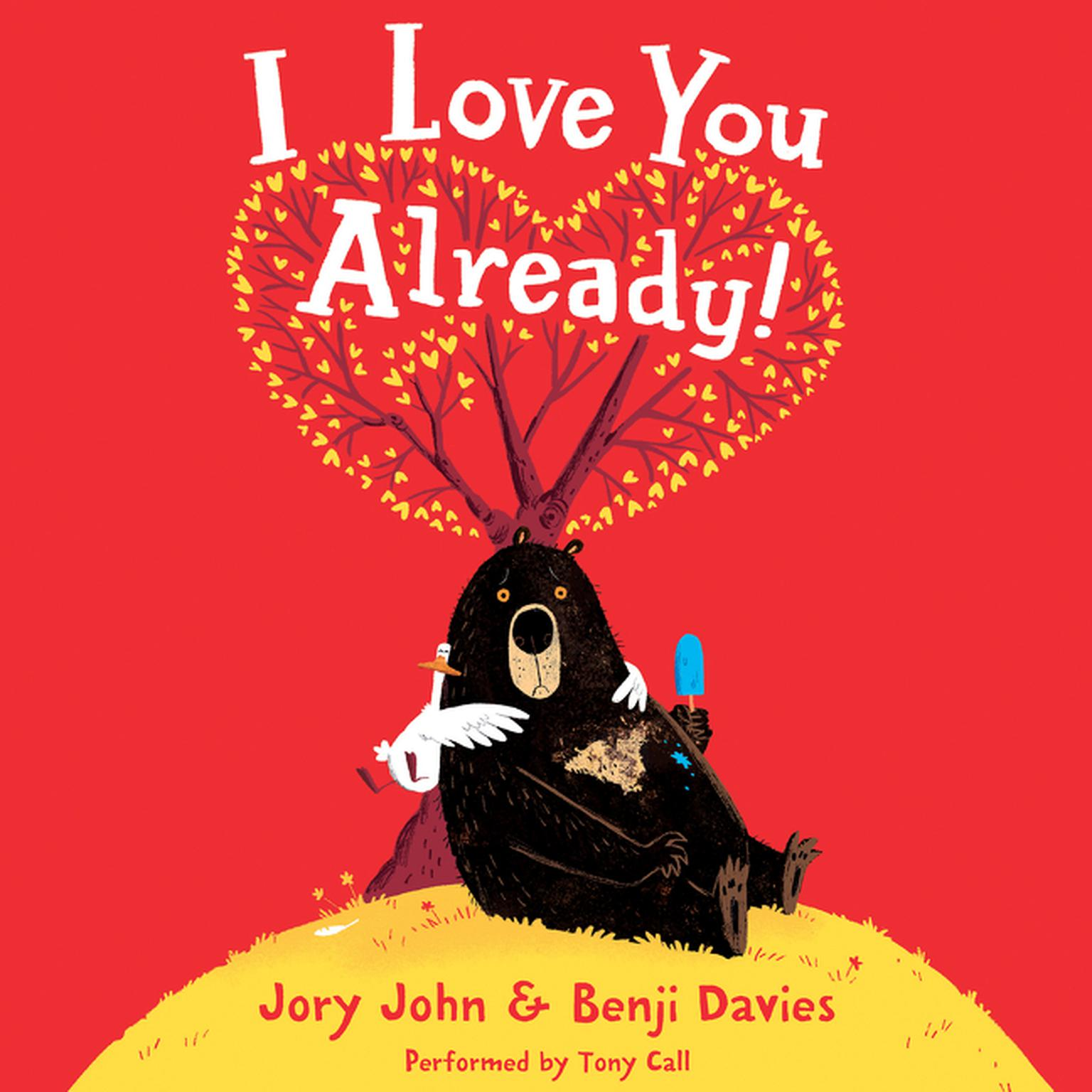 Printable I Love You Already! Audiobook Cover Art