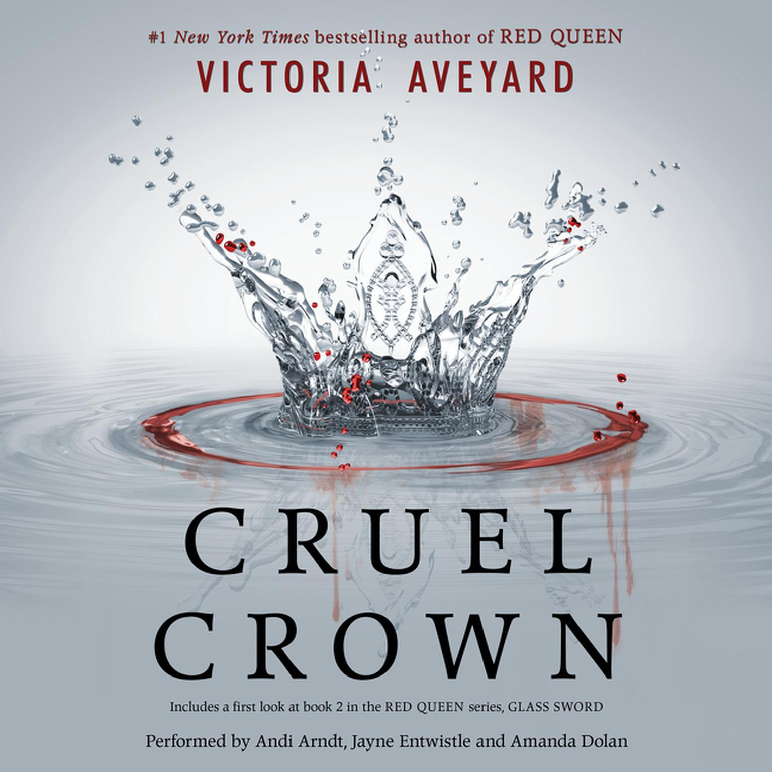 Printable Cruel Crown Audiobook Cover Art