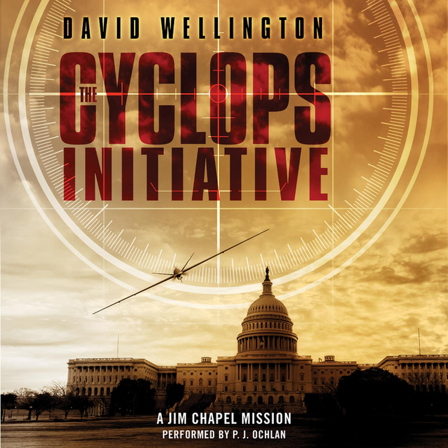 Printable The Cyclops Initiative: A Jim Chapel Mission Audiobook Cover Art
