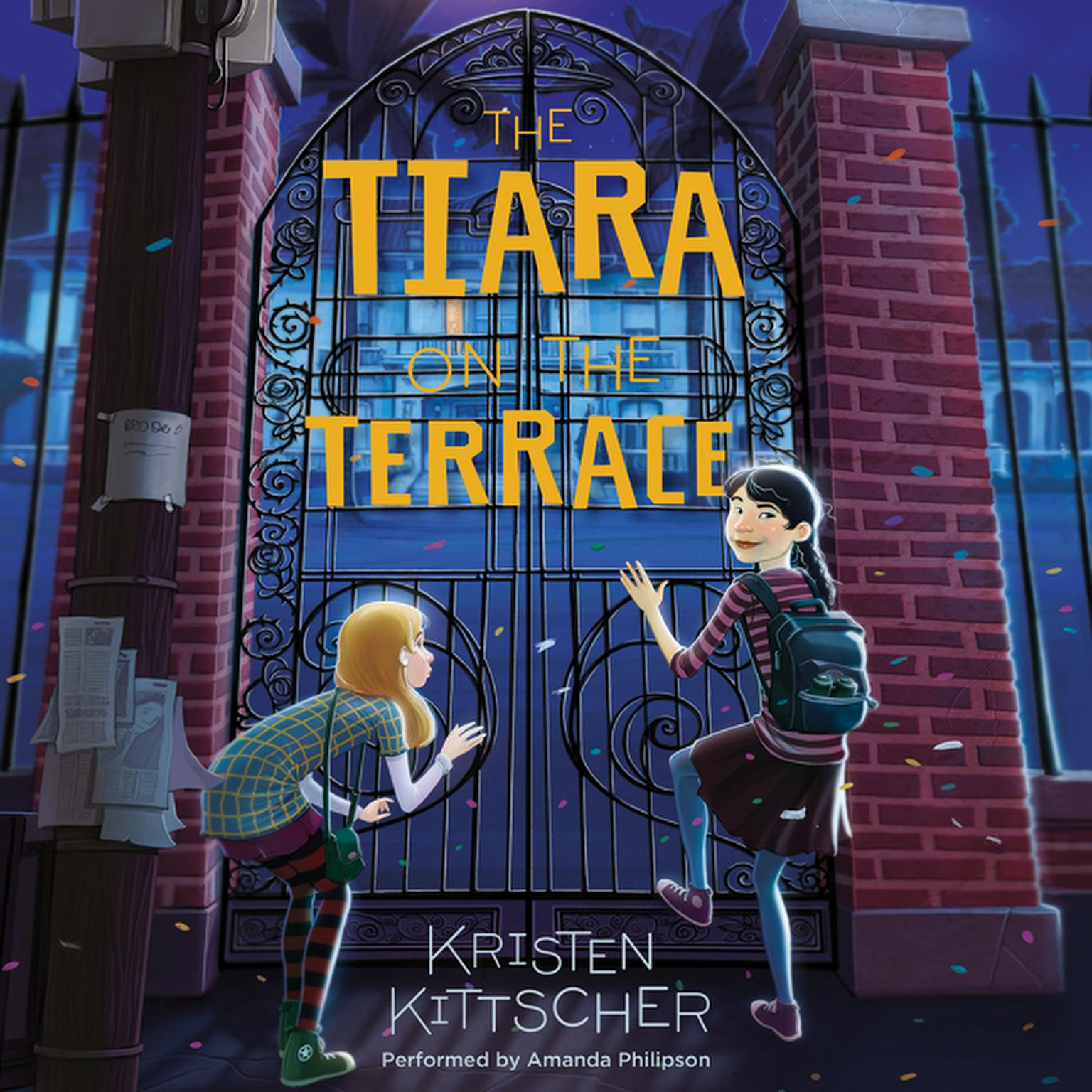 Printable The Tiara on the Terrace Audiobook Cover Art