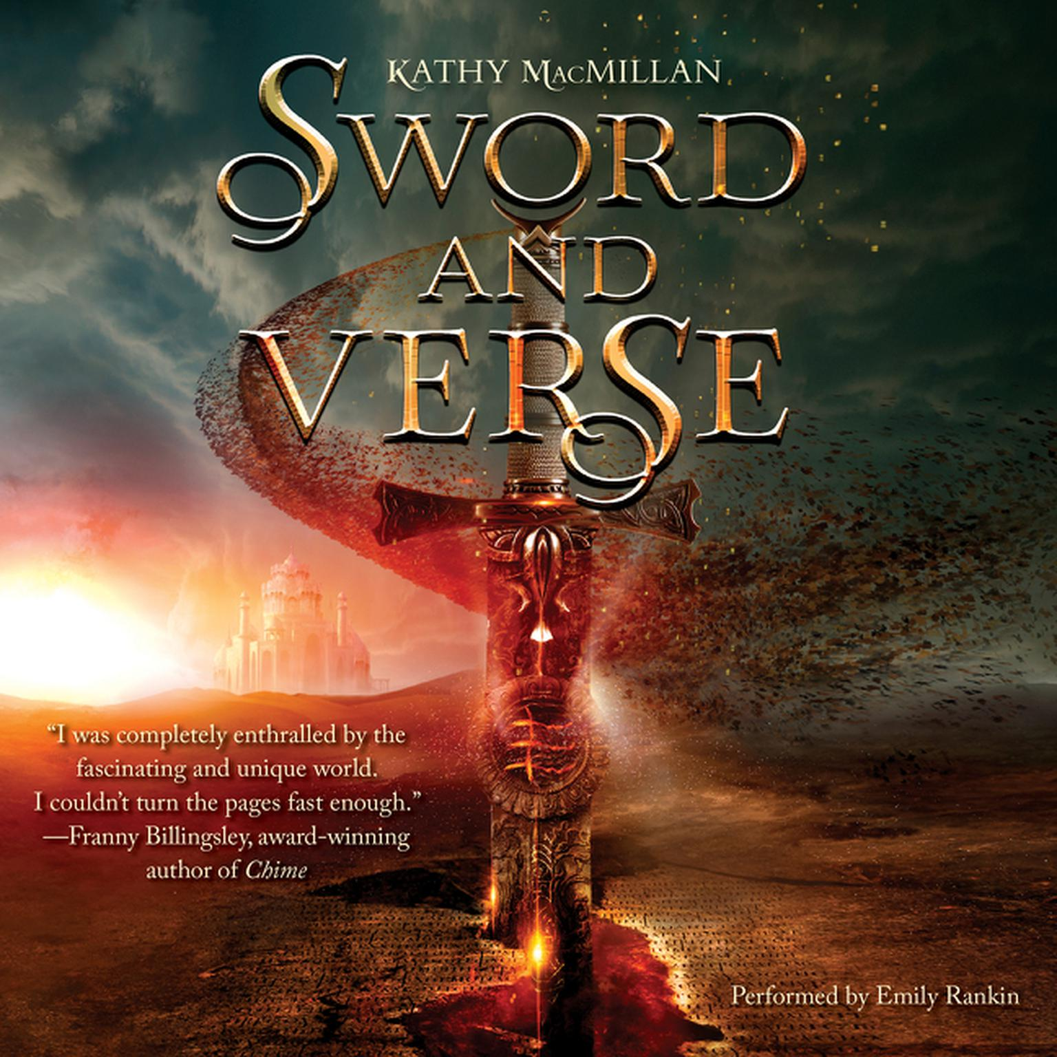 Printable Sword and Verse Audiobook Cover Art
