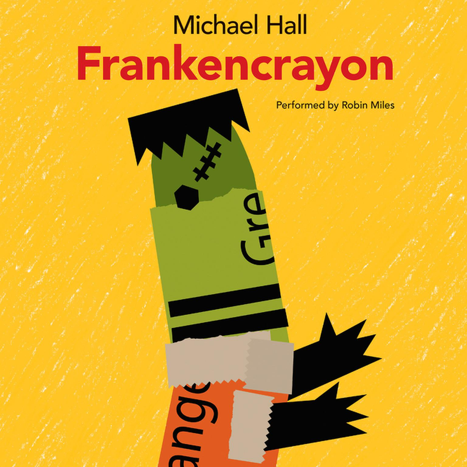 Printable Frankencrayon Audiobook Cover Art