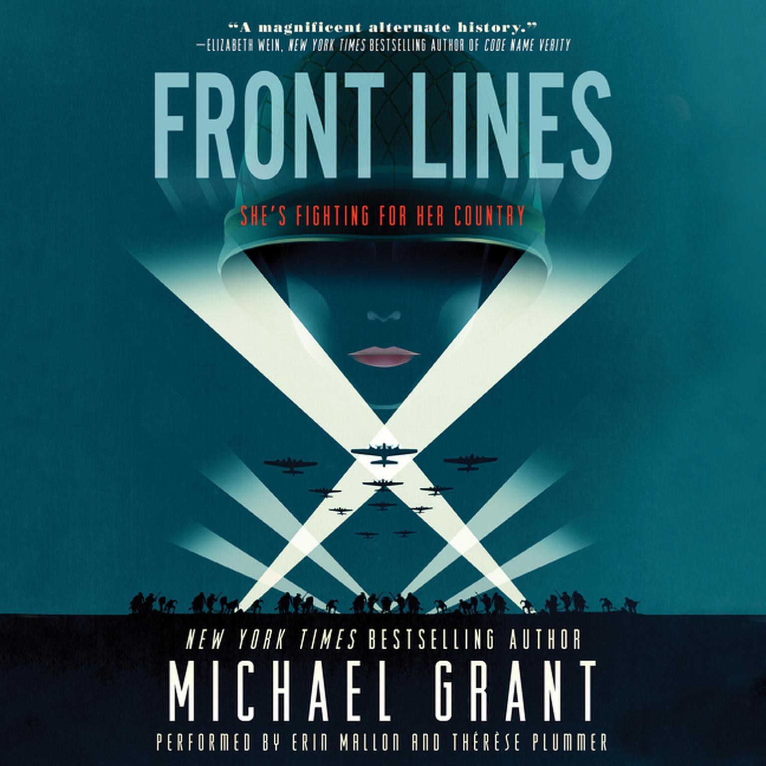 Printable Front Lines Audiobook Cover Art