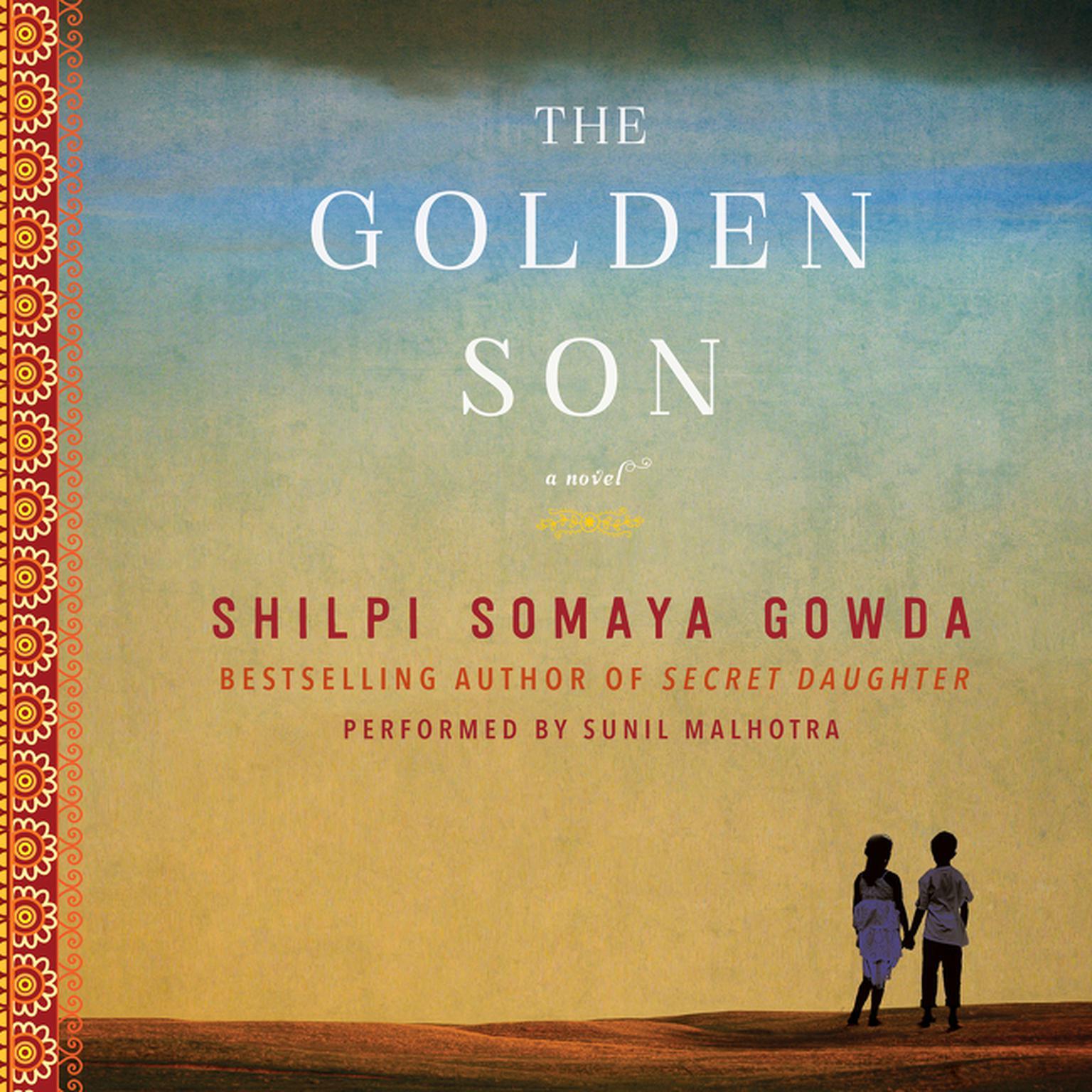 Printable The Golden Son: A Novel Audiobook Cover Art