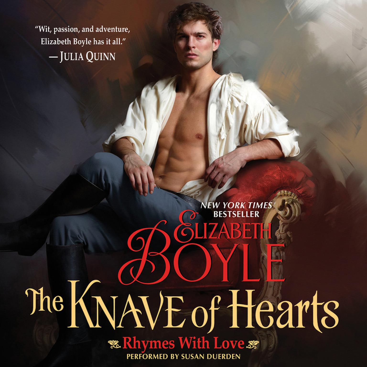 Printable The Knave of Hearts: Rhymes With Love Audiobook Cover Art