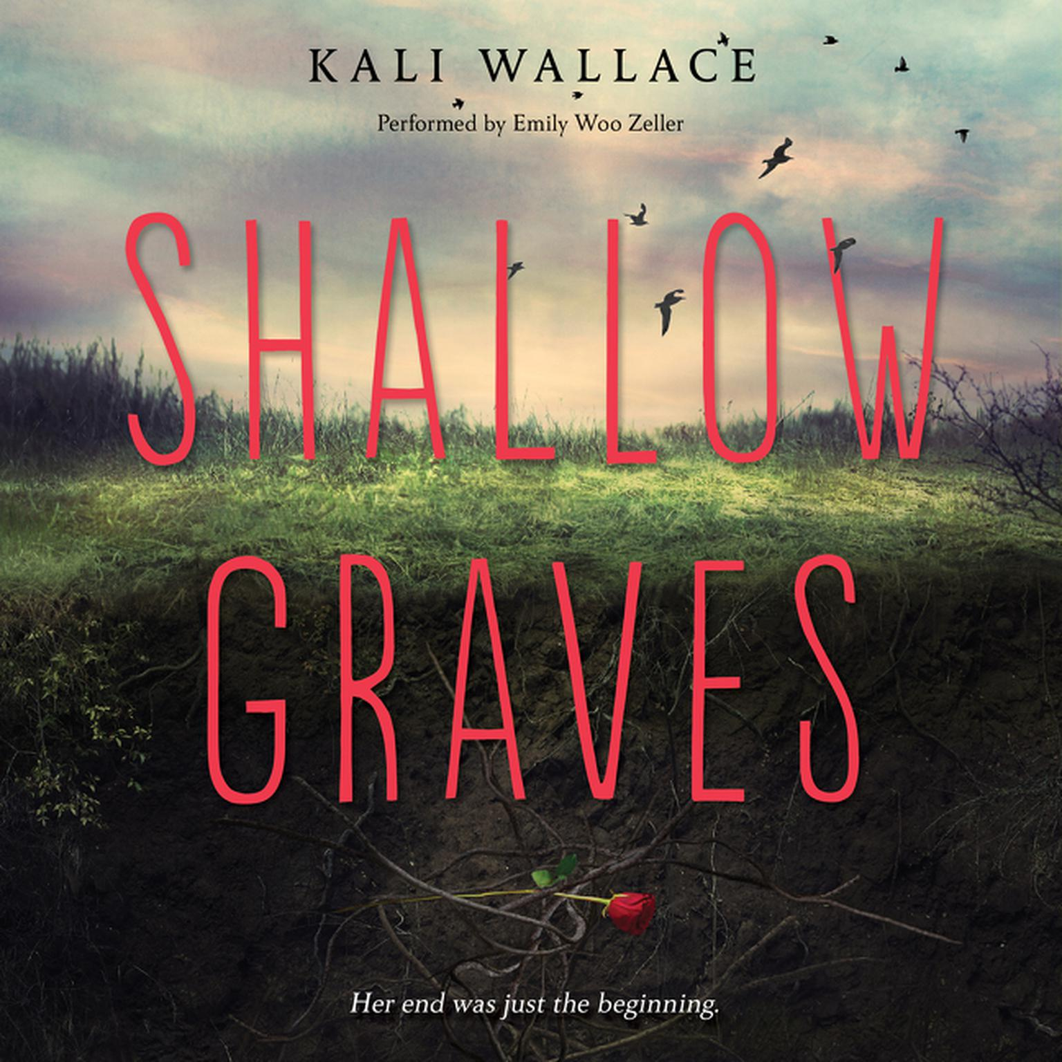 Printable Shallow Graves Audiobook Cover Art