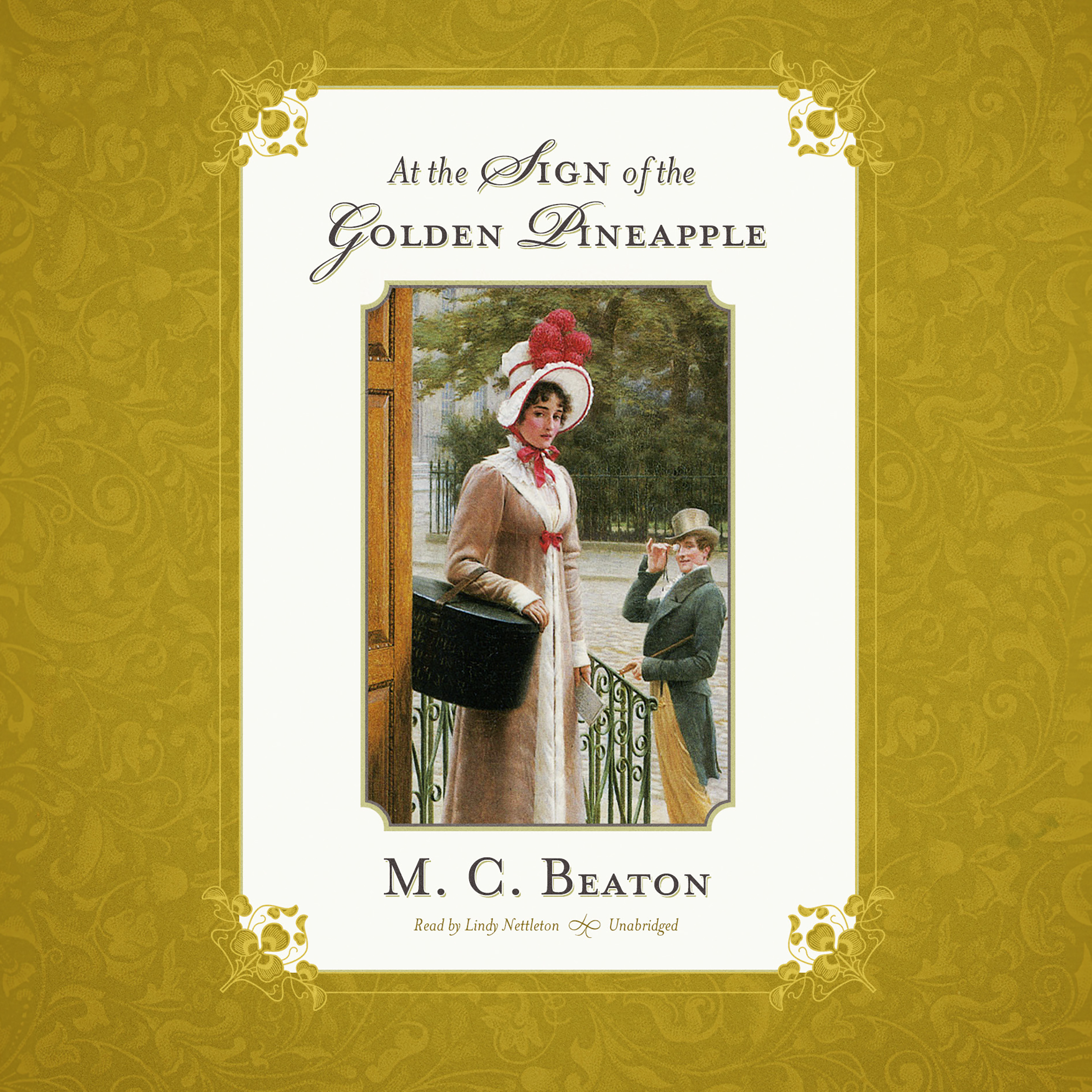 Printable At the Sign of the Golden Pineapple Audiobook Cover Art