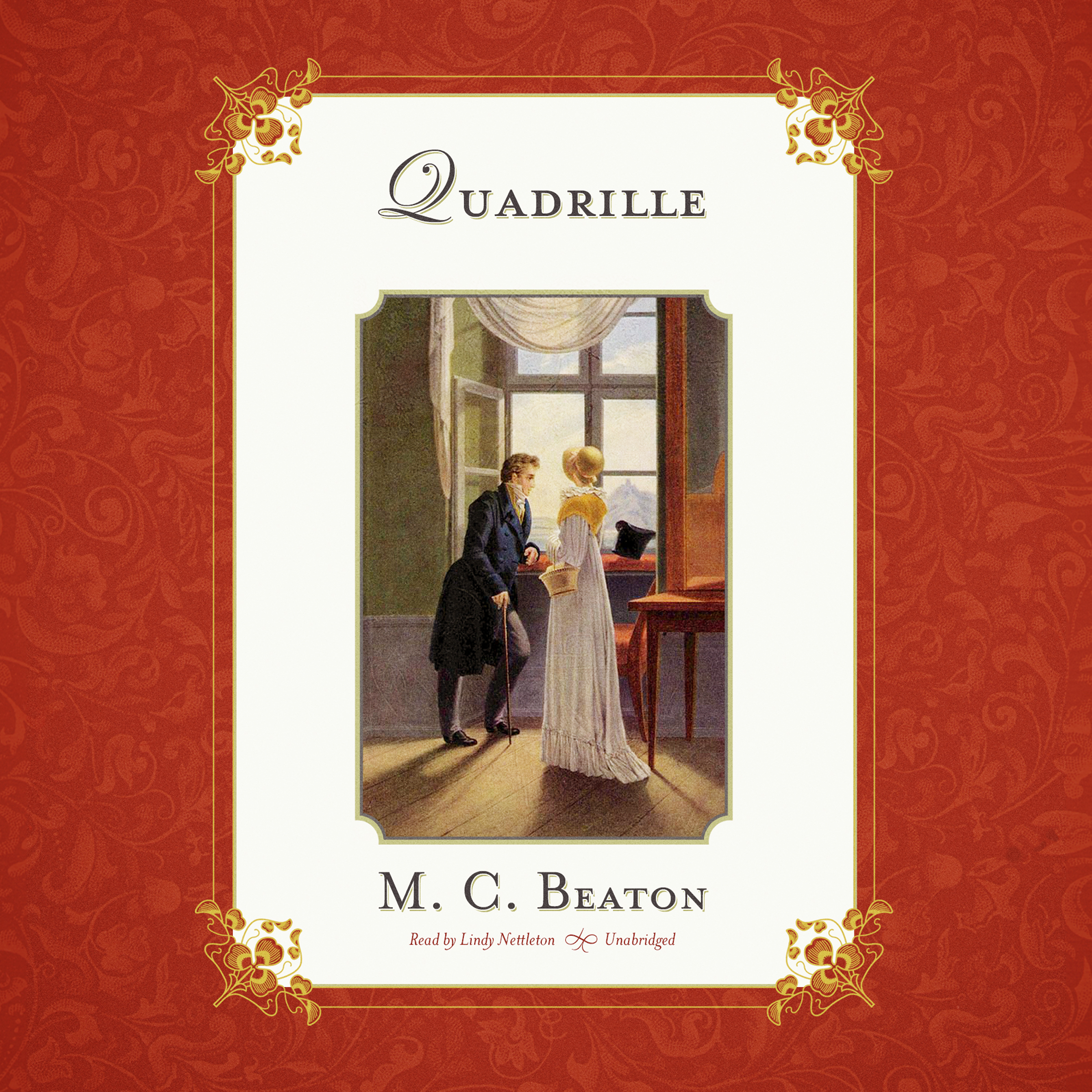 Printable Quadrille Audiobook Cover Art