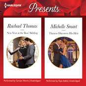 New Year at the Boss' Bidding & Theseus Discovers His Heir Audiobook, by Michelle Smart, Rachael Thomas