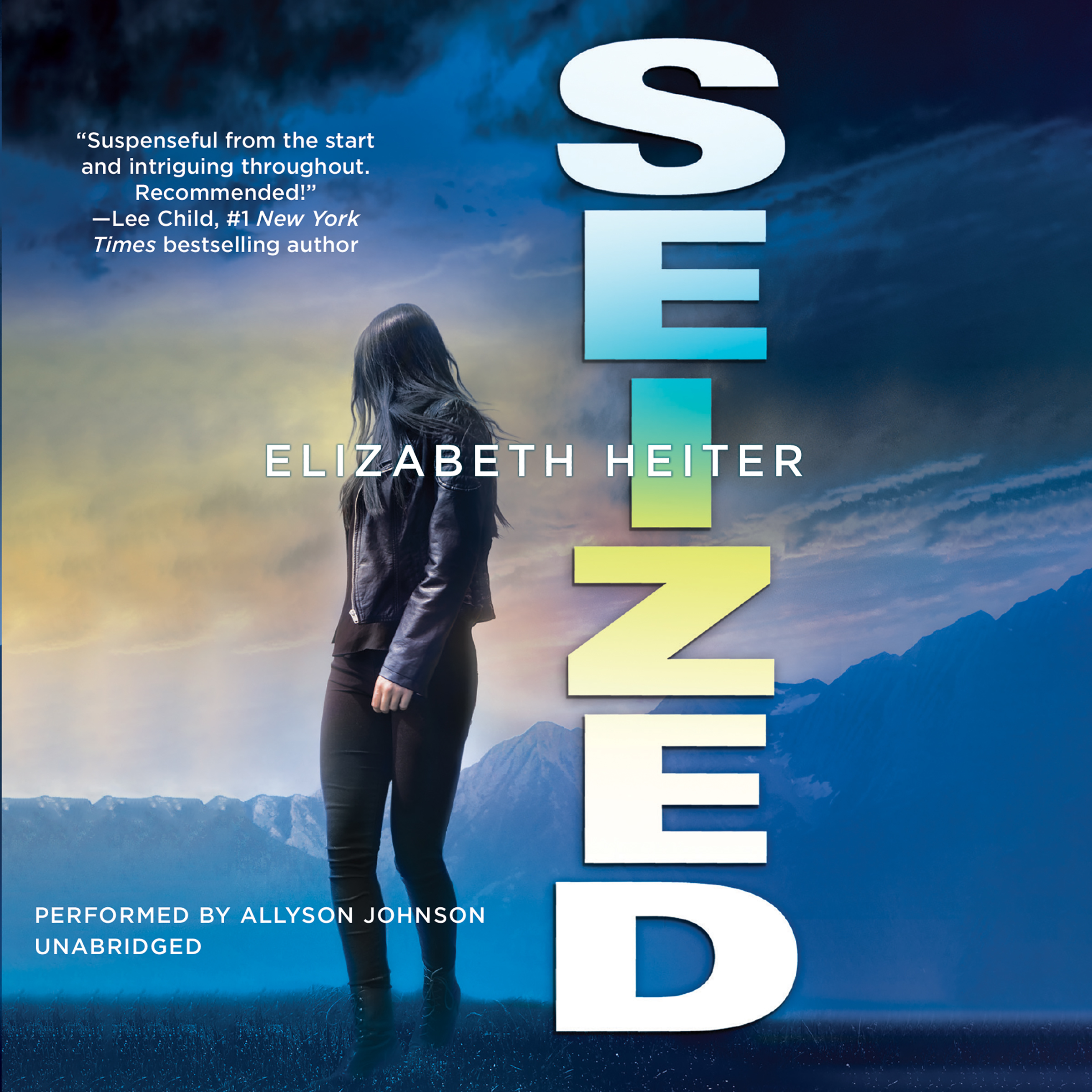 Printable Seized Audiobook Cover Art
