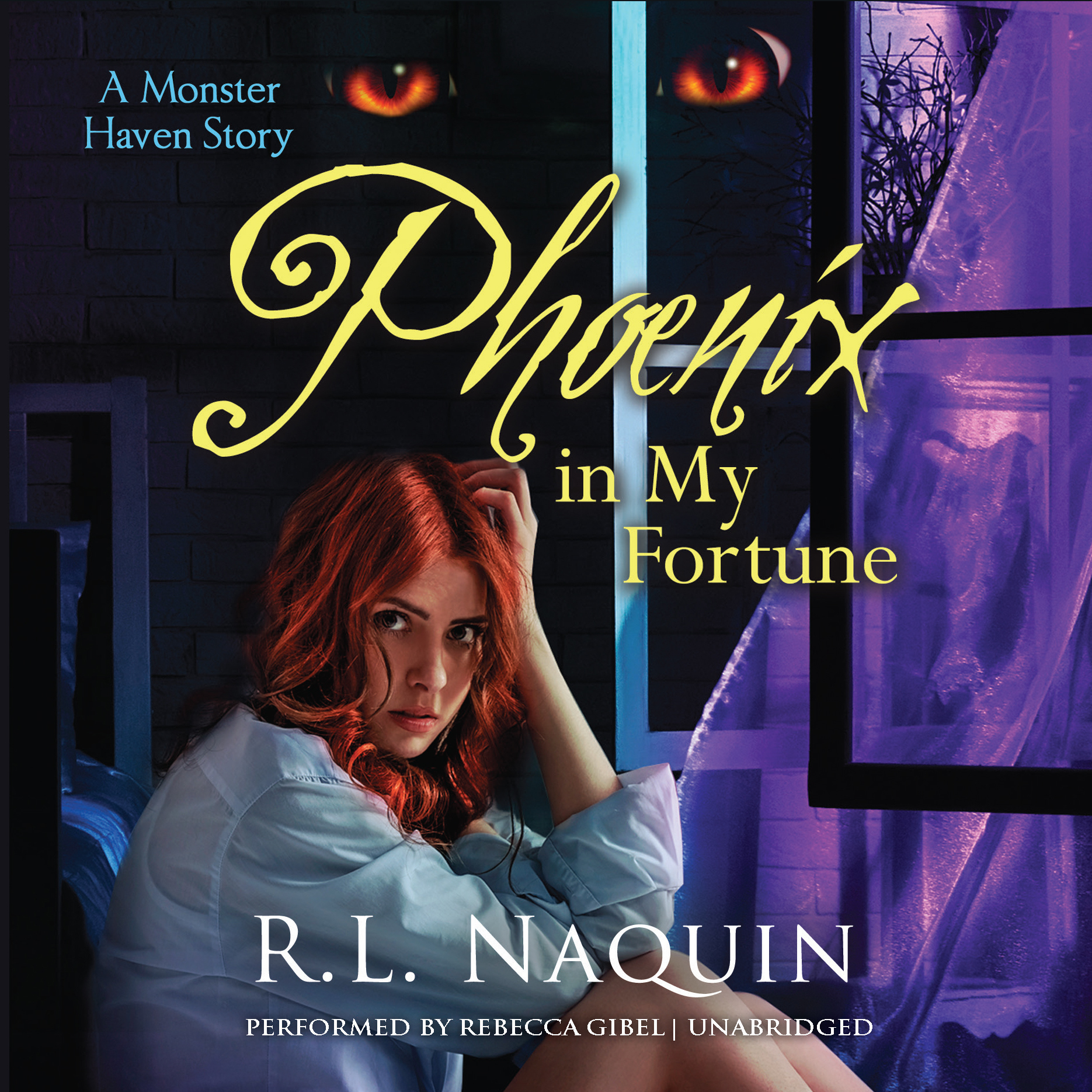 Printable Phoenix in My Fortune Audiobook Cover Art