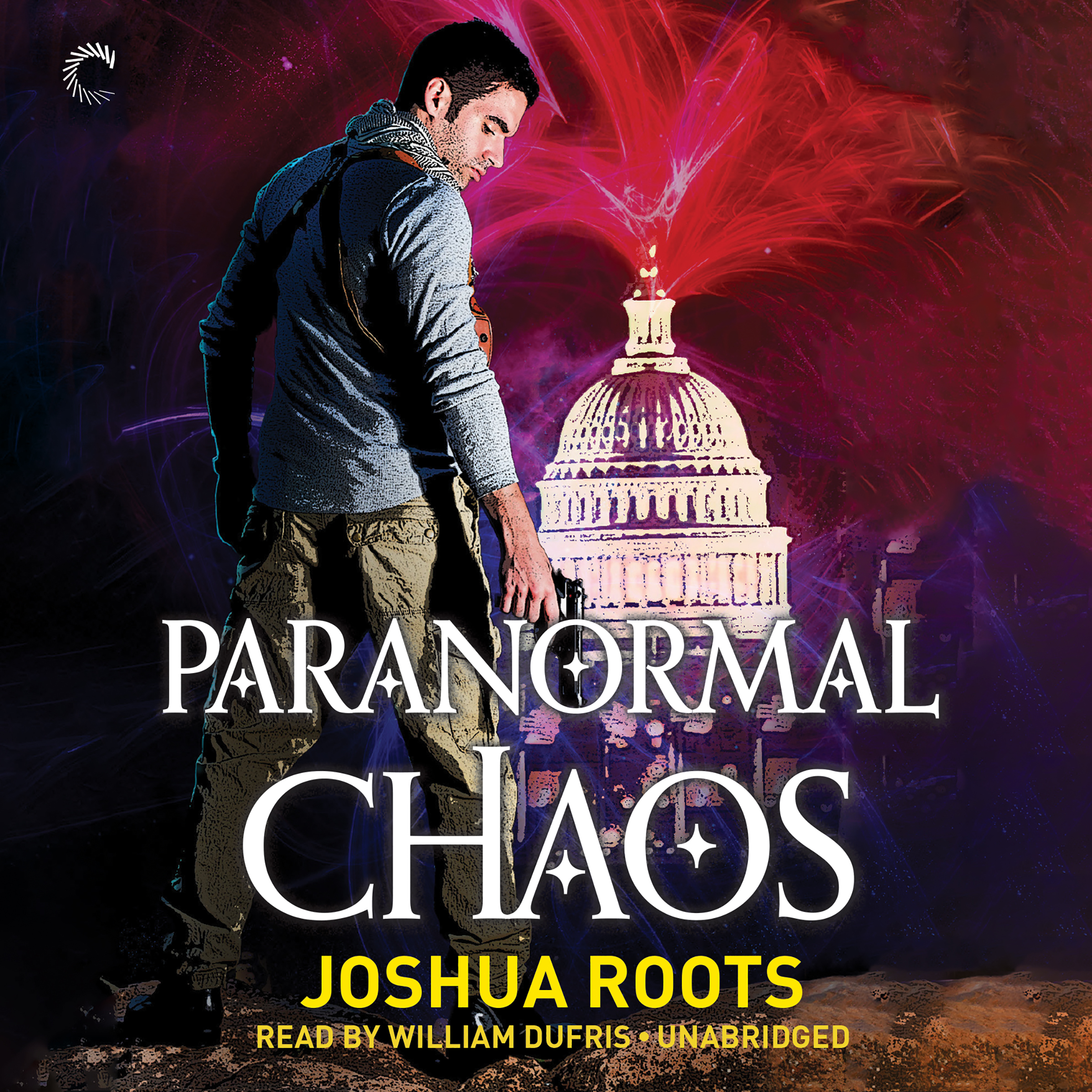 Printable Paranormal Chaos Audiobook Cover Art