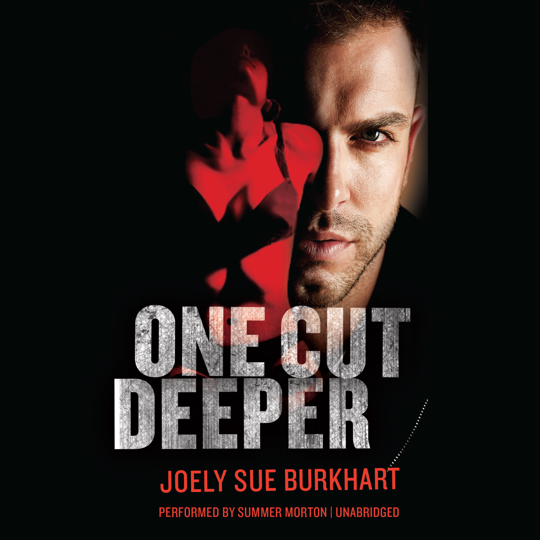 Printable One Cut Deeper Audiobook Cover Art