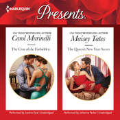 The Cost of the Forbidden & The Queen's New Year Secret Audiobook, by Carol Marinelli, Maisey Yates