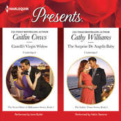 Castelli's Virgin Widow & The Surprise De Angelis Baby Audiobook, by Caitlin Crews, Cathy Williams