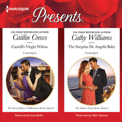 Castellis Virgin Widow & The Surprise De Angelis Baby Audiobook, by Caitlin Crews