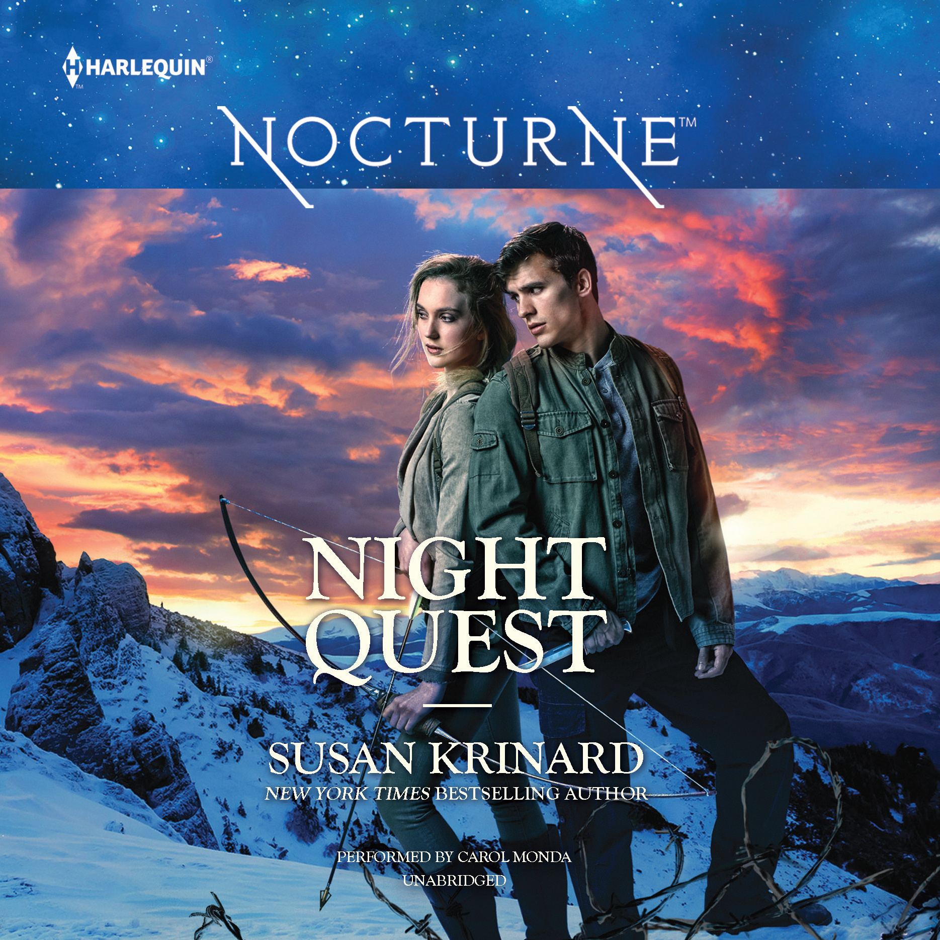 Printable Night Quest Audiobook Cover Art