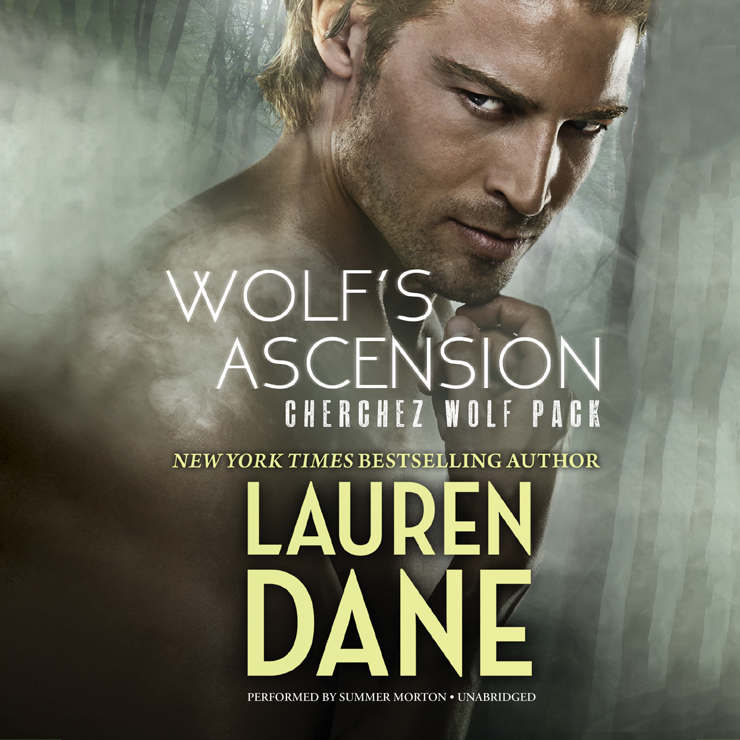 Printable Wolf's Ascension: Cherchez Wolf Pack, Book 1 Audiobook Cover Art