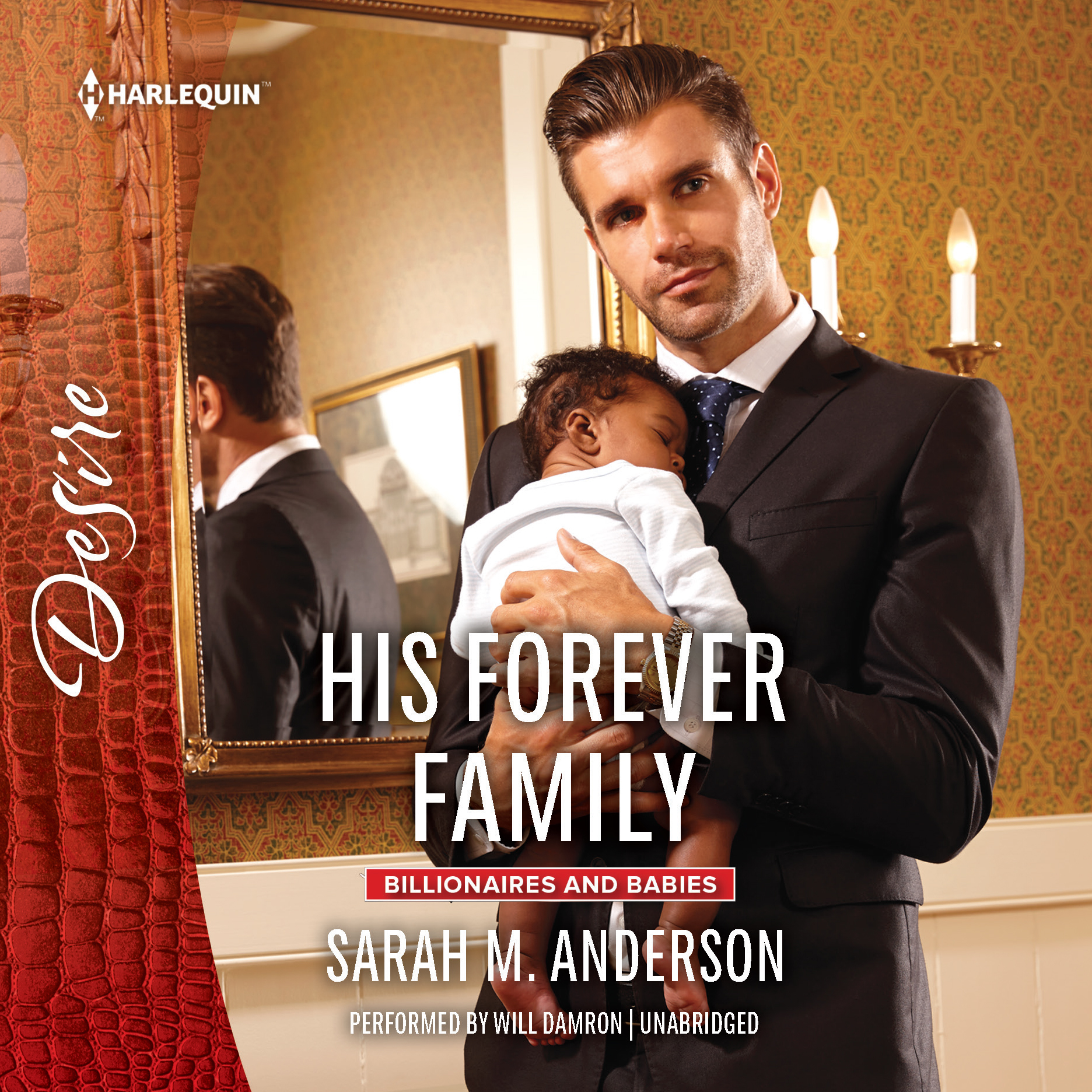 Printable His Forever Family: w/ Bonus Short Story: Never Too Late Audiobook Cover Art