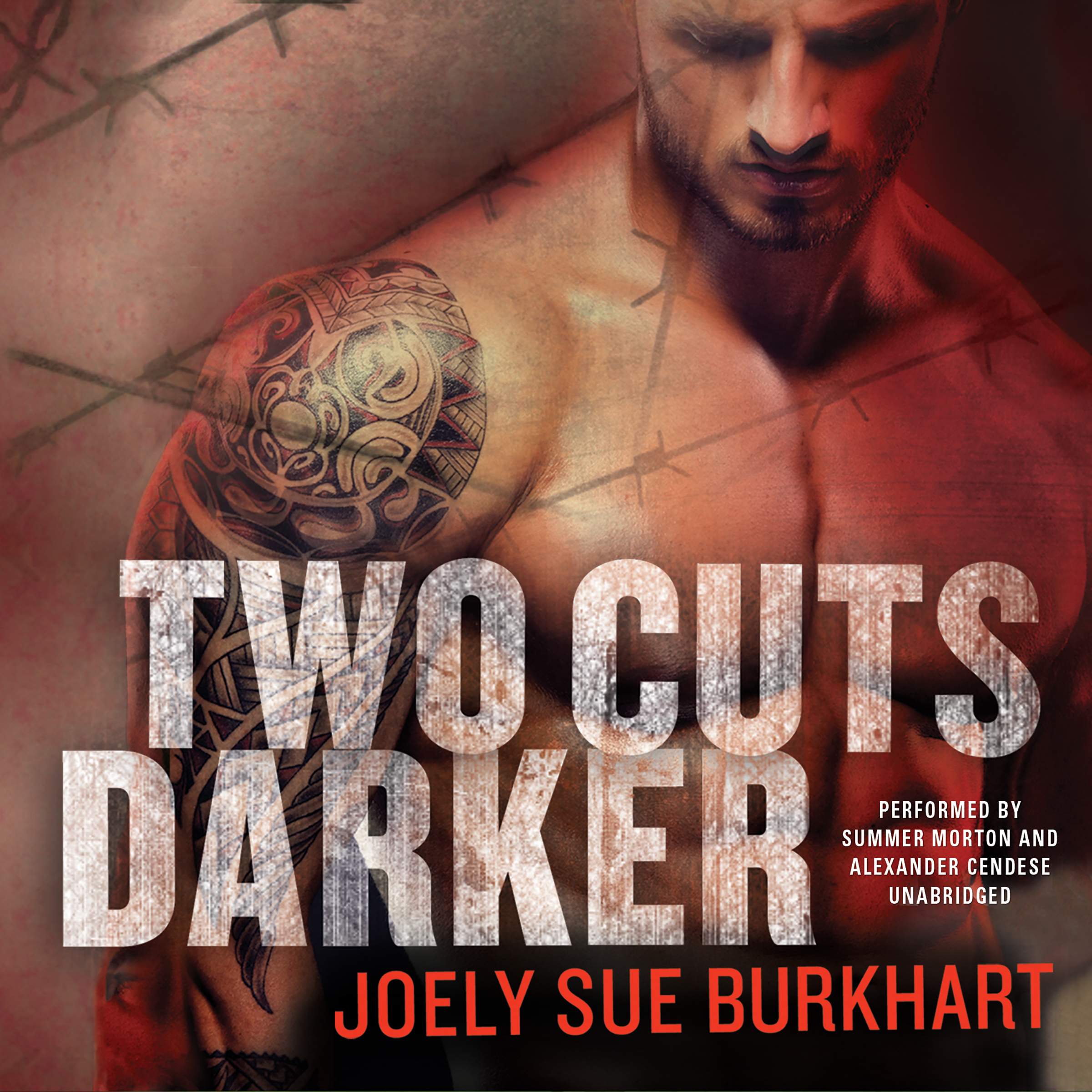 Printable Two Cuts Darker Audiobook Cover Art