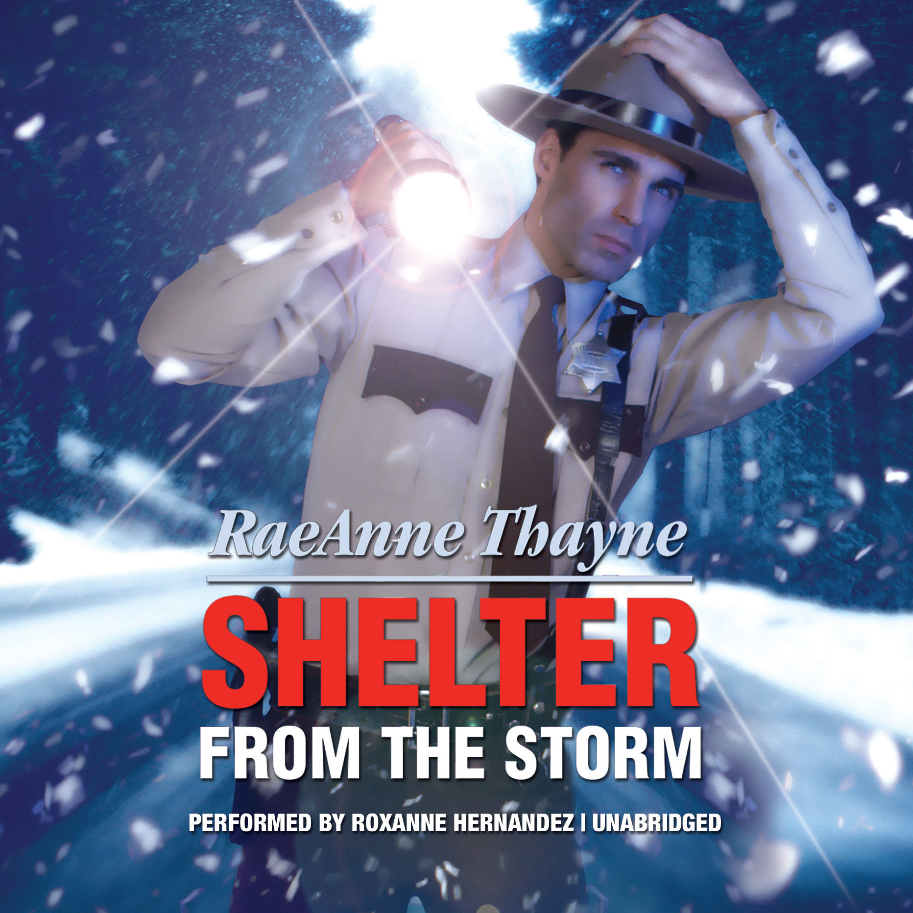 Printable Shelter from the Storm Audiobook Cover Art