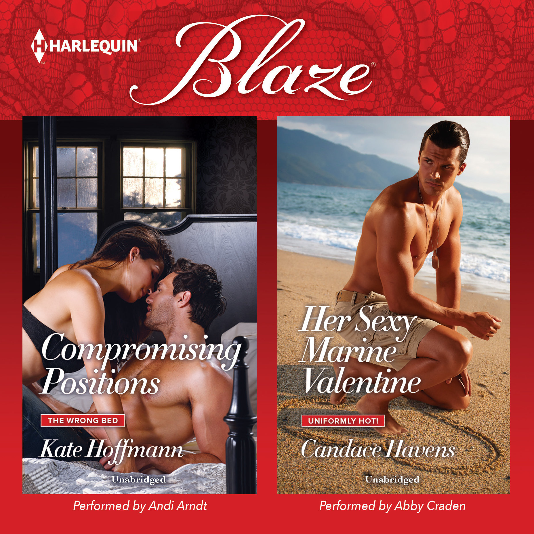 Printable Compromising Positions & Her Sexy Marine Valentine Audiobook Cover Art