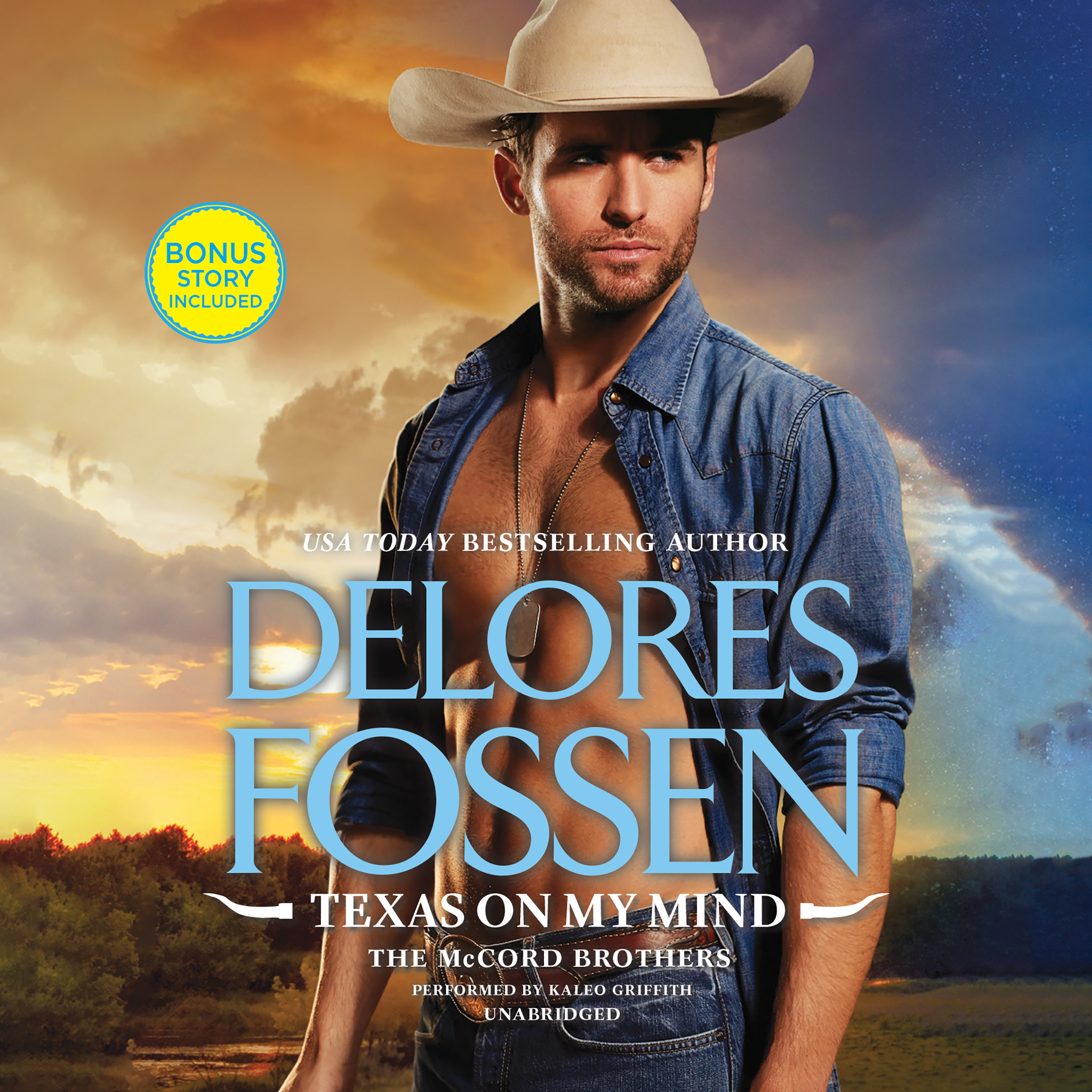 Printable Texas on My Mind Audiobook Cover Art