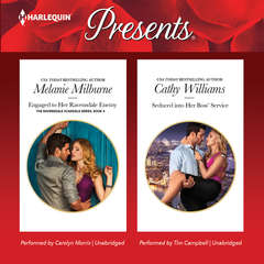 Engaged to Her Ravensdale Enemy & Seduced into Her Boss' Service Audiobook, by Cathy Williams, Melanie Milburne